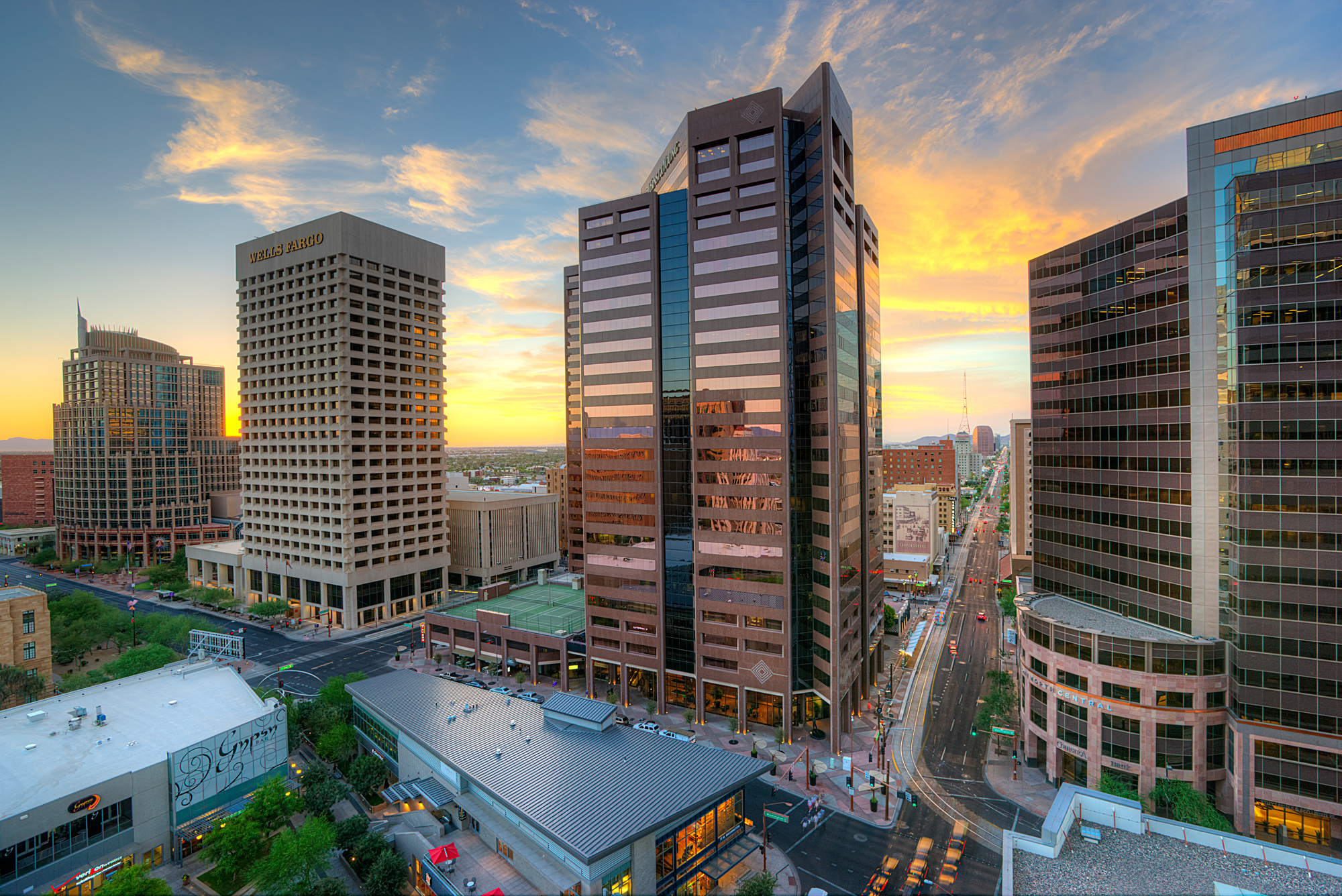 CityScape | High Rise Apartments in Downtown Phoenix
