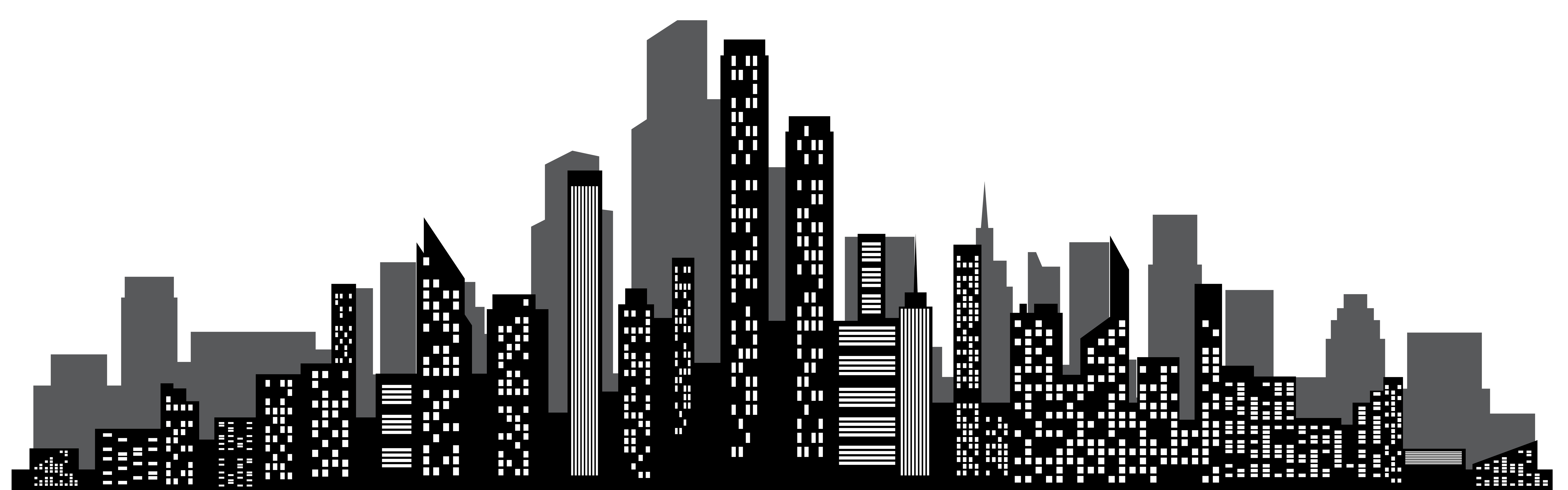 Cityscape Silhouette at GetDrawings.com   Free for personal use ...
