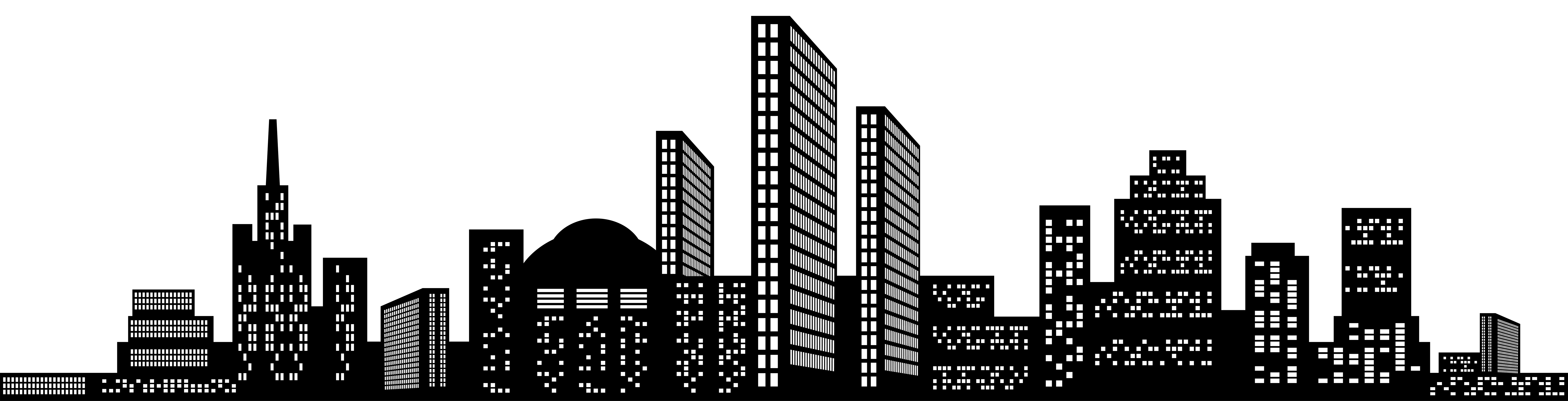 Free photo: Cityscape Silhouette - Abstract, Apartments ...