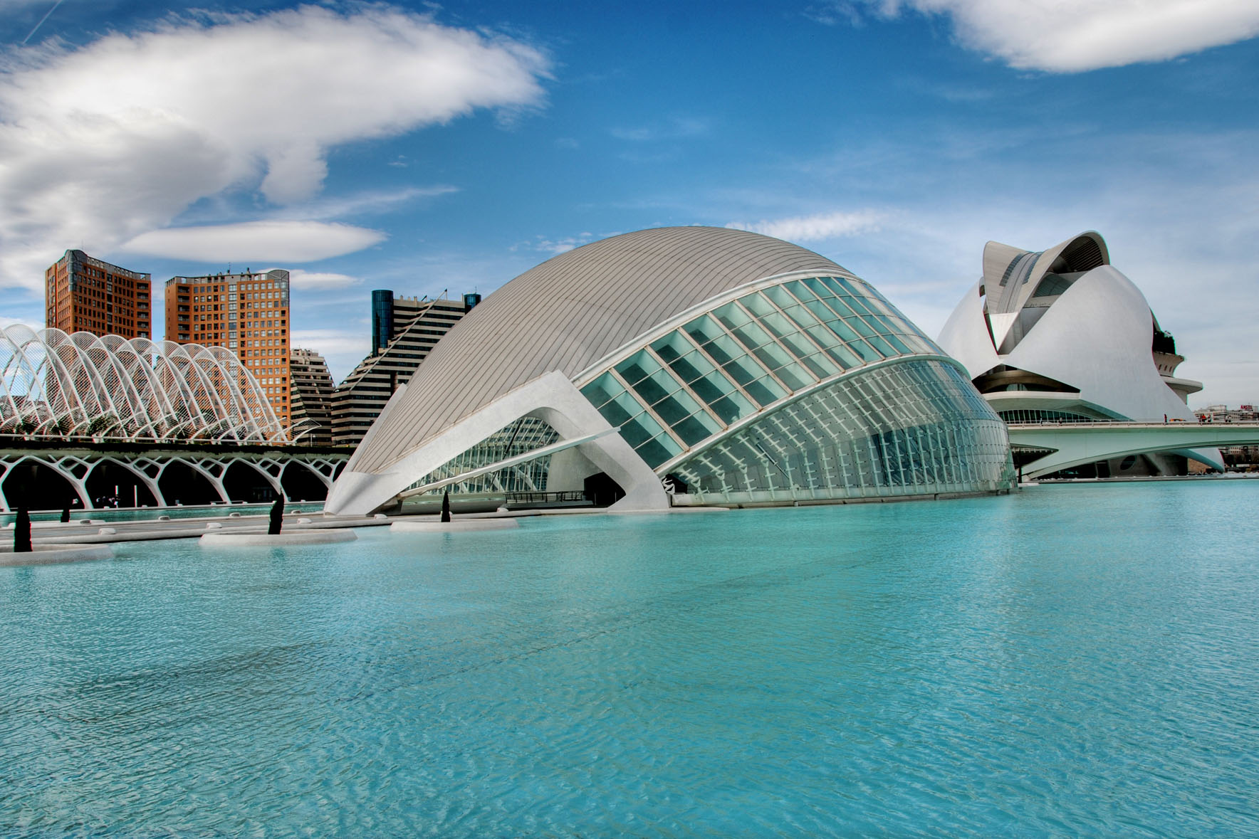 Ciudad de las artes y las ciencias photo