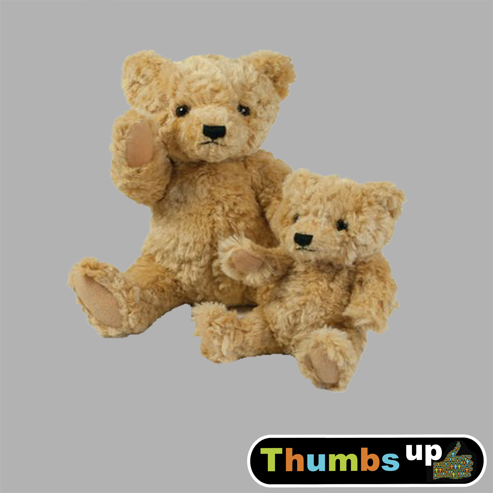 Classic Teddy Bear Jointed Arms and Legs - PukkerUp.com
