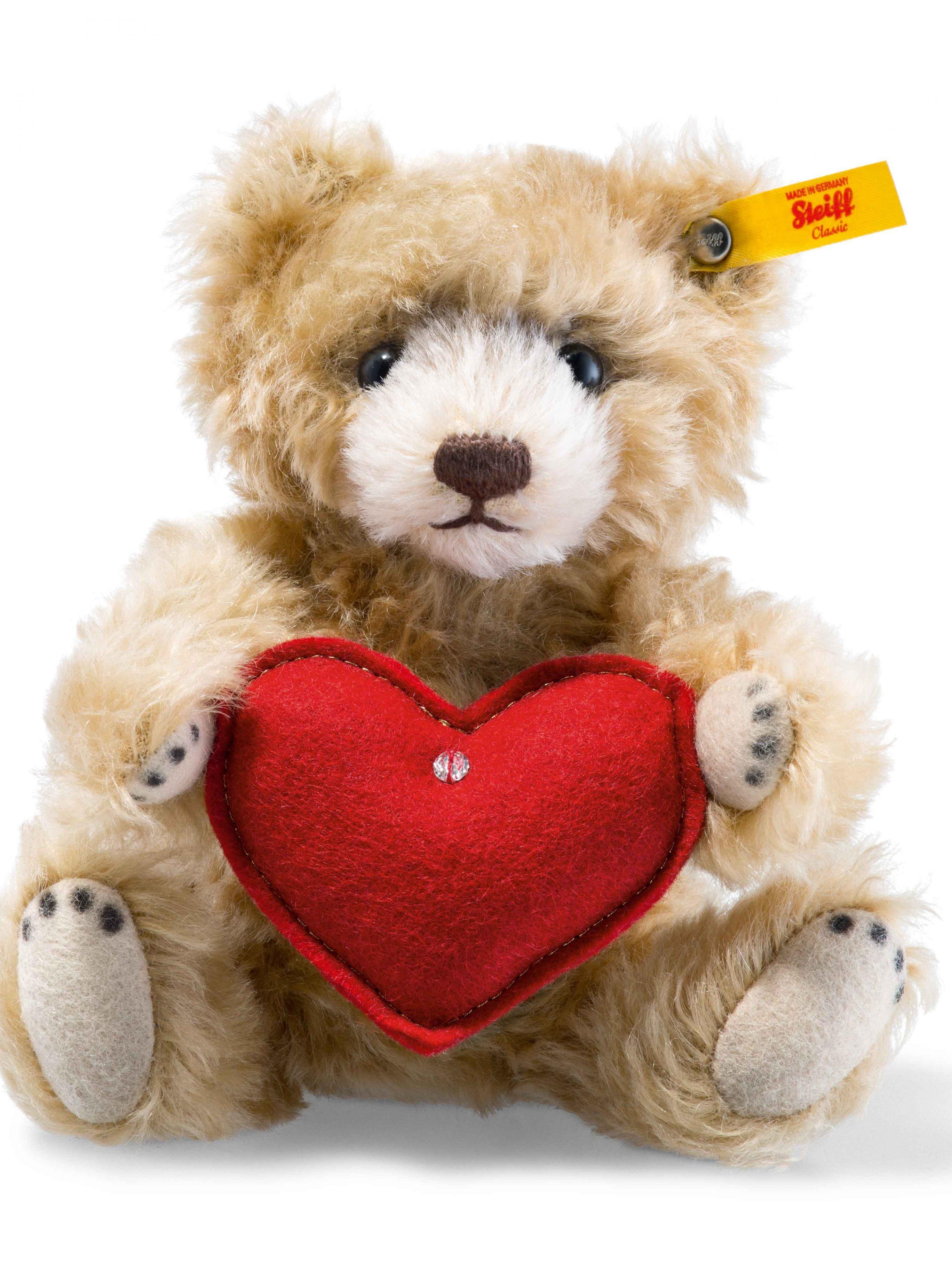 Steiff Teddy with Heart | Teddy Bears