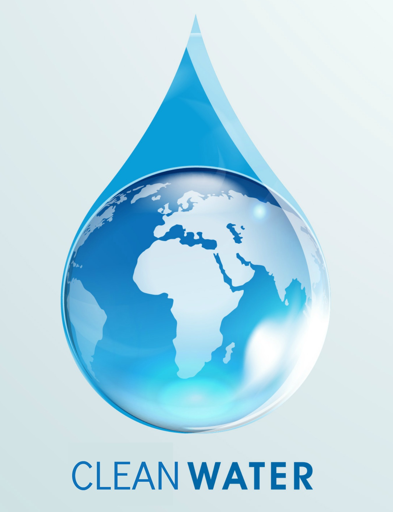 Clean water photo