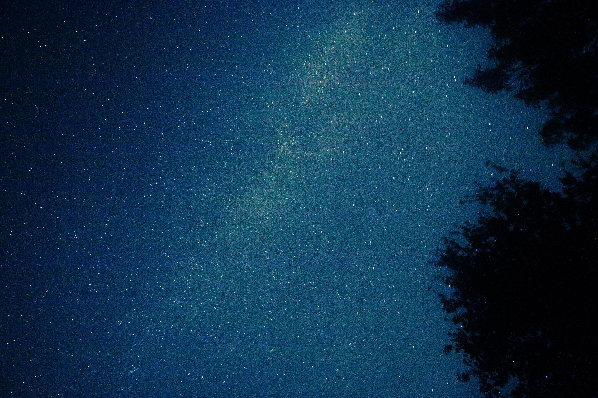 Clear Sky, Clear, Dark, Eve, Million, HQ Photo