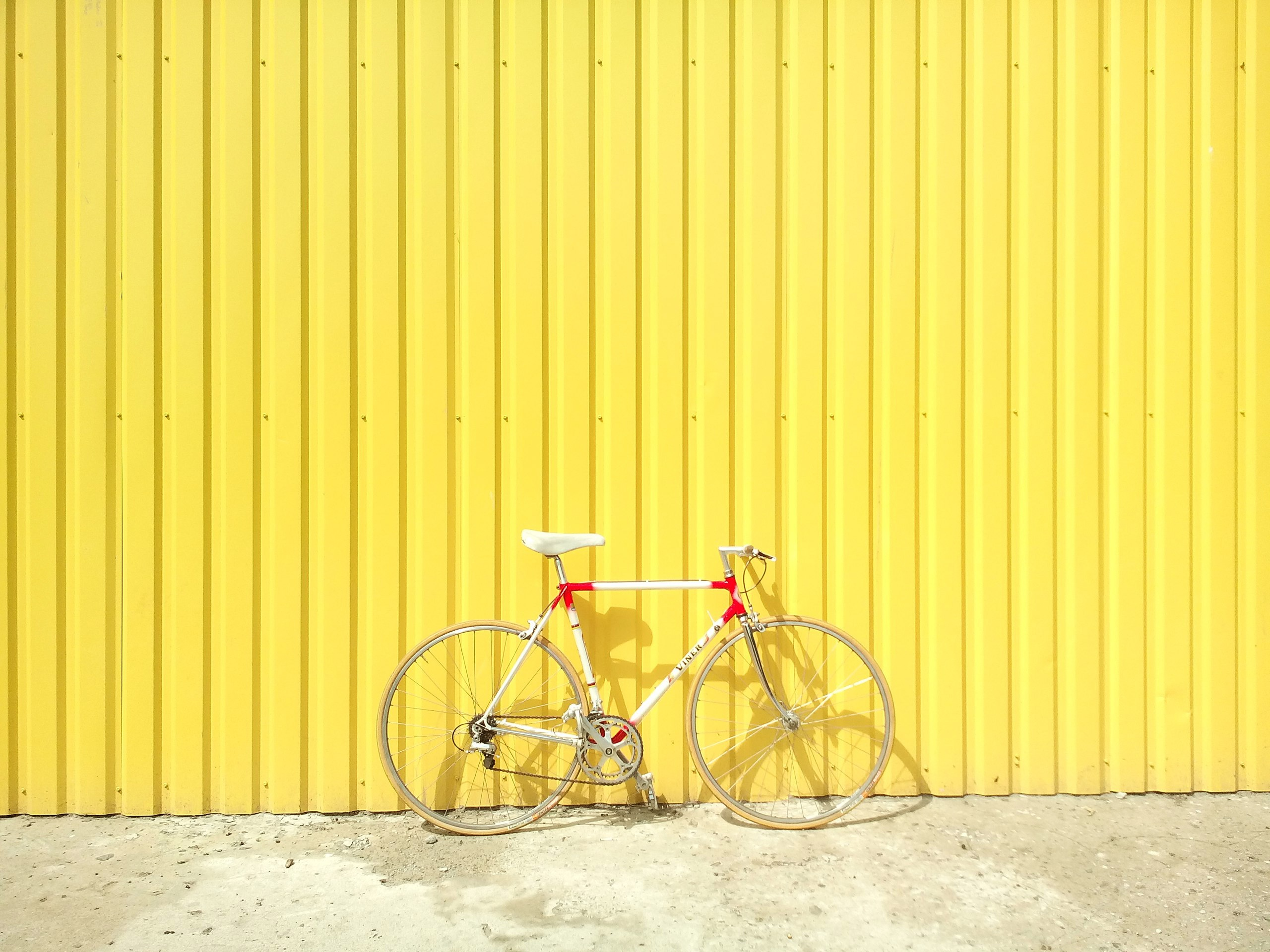 Click, Bike, Cycle, Wheel, Yellow, HQ Photo