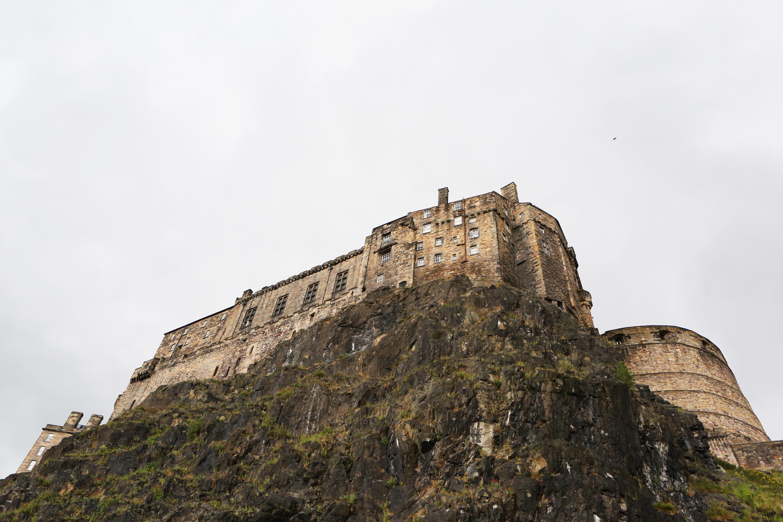 Cliff House, Castle, Cliff, House, Landscape, HQ Photo