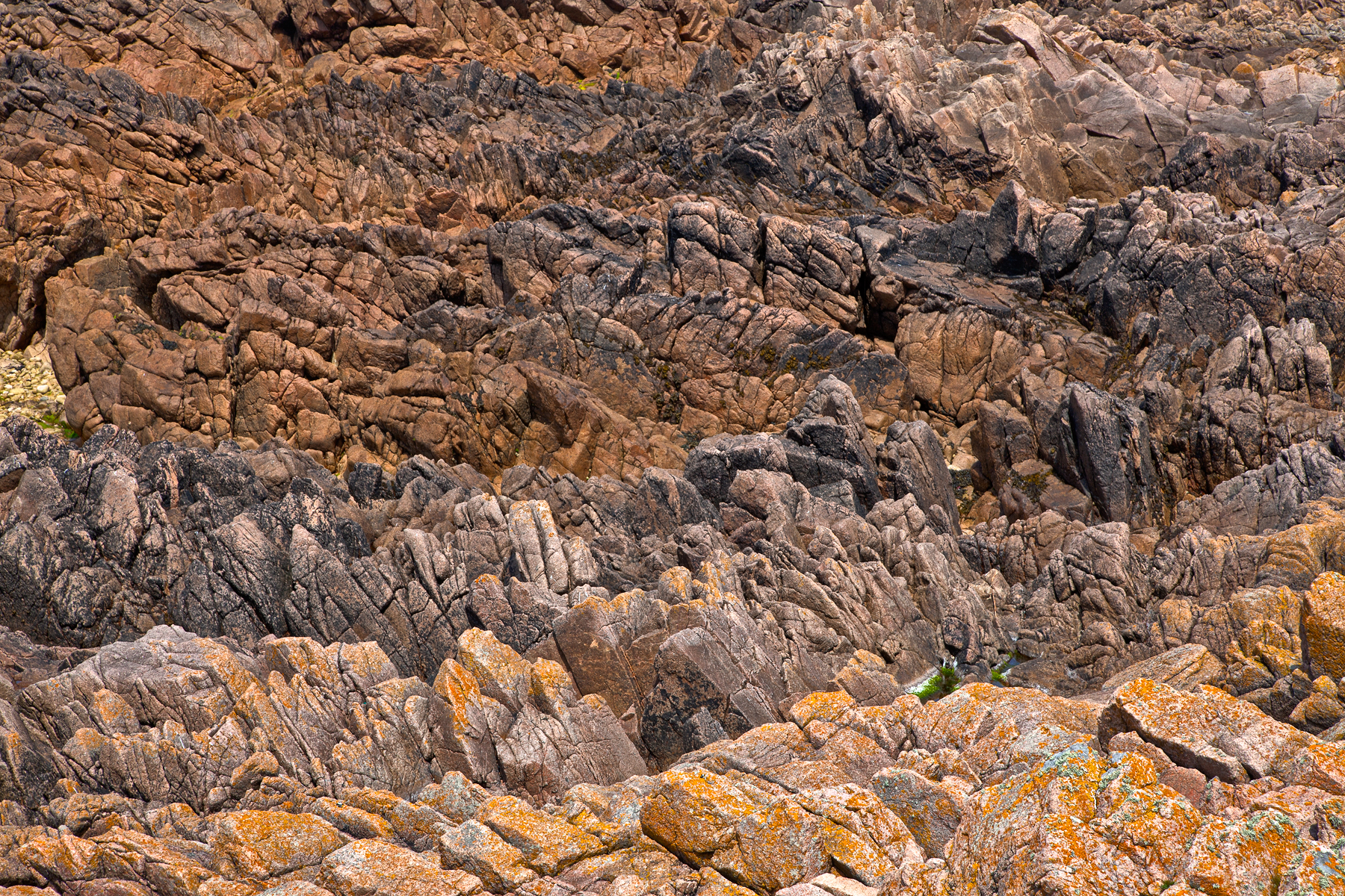 Cliff rocks texture - hdr photo