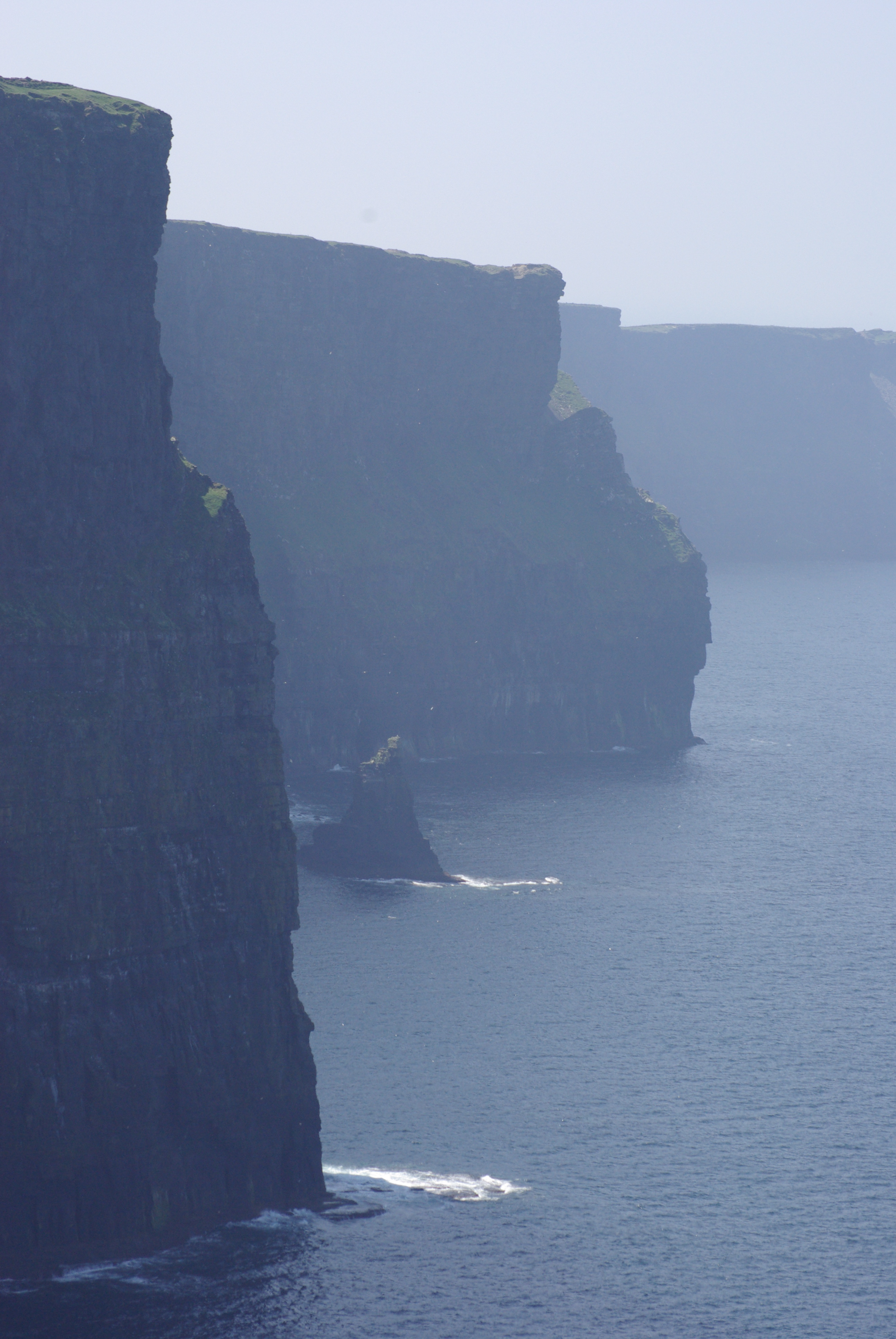Cliffs of Mohar Ireland, Bare, Cliffs, Harsh, Ireland, HQ Photo