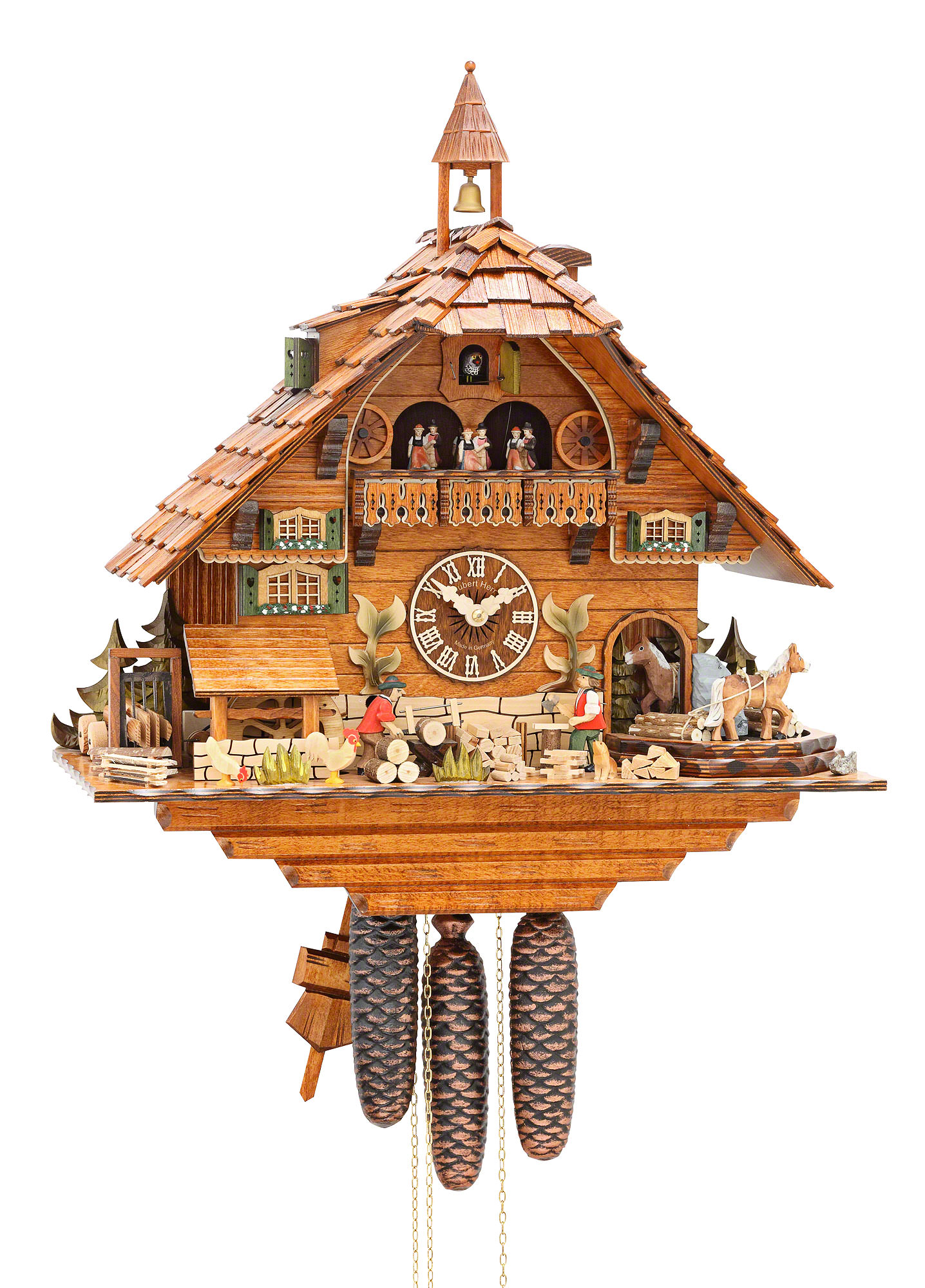 Cuckoo Clock of the Year-Winner :: Cuckoo-Clock Shop - Black Forest ...
