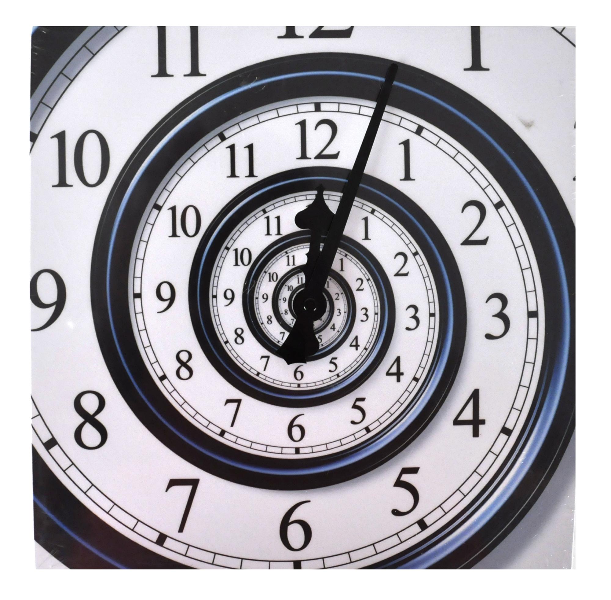 Infinite Spiral Wall Clock | Pink Cat Shop