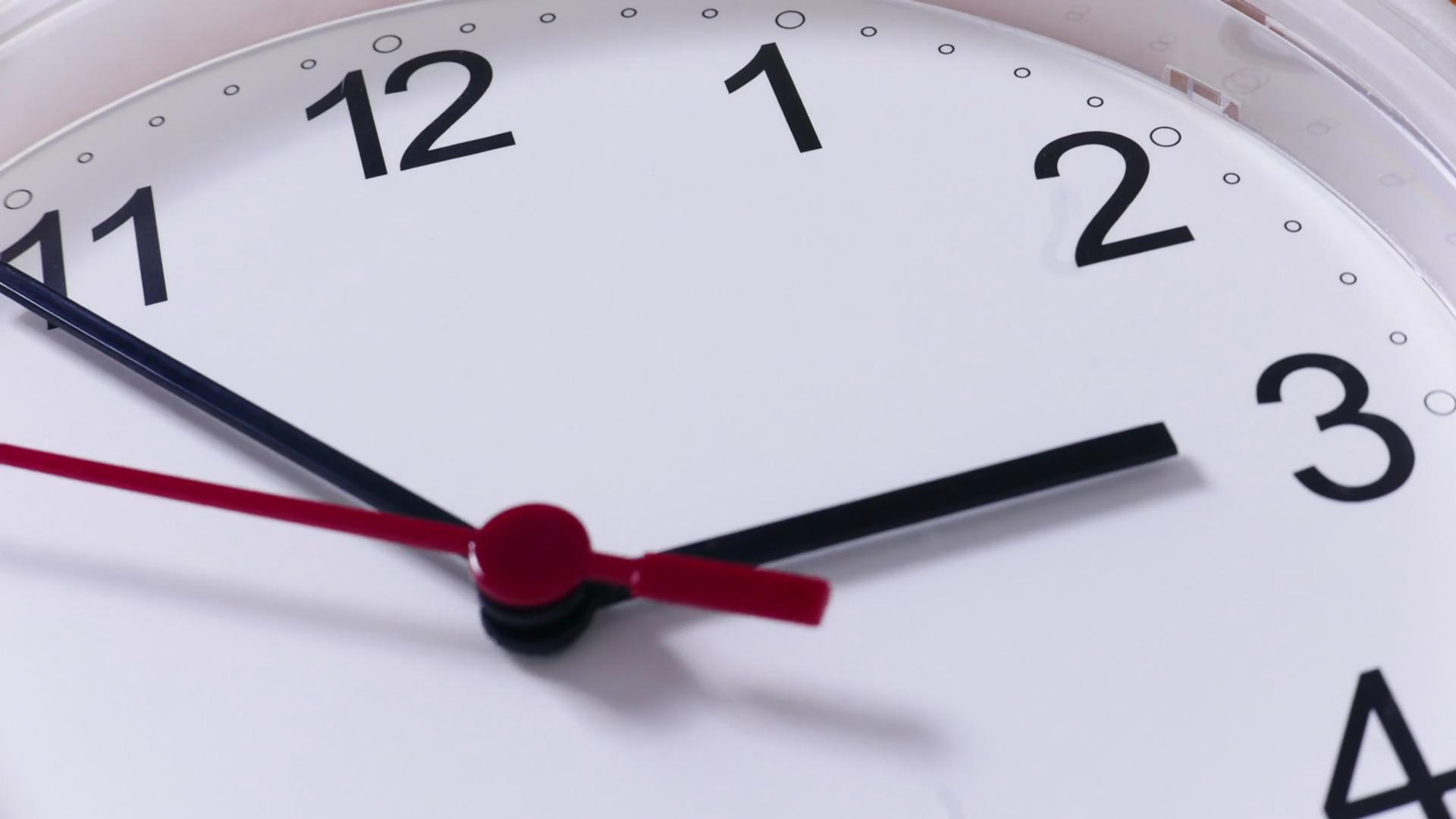 Clock closeup photo