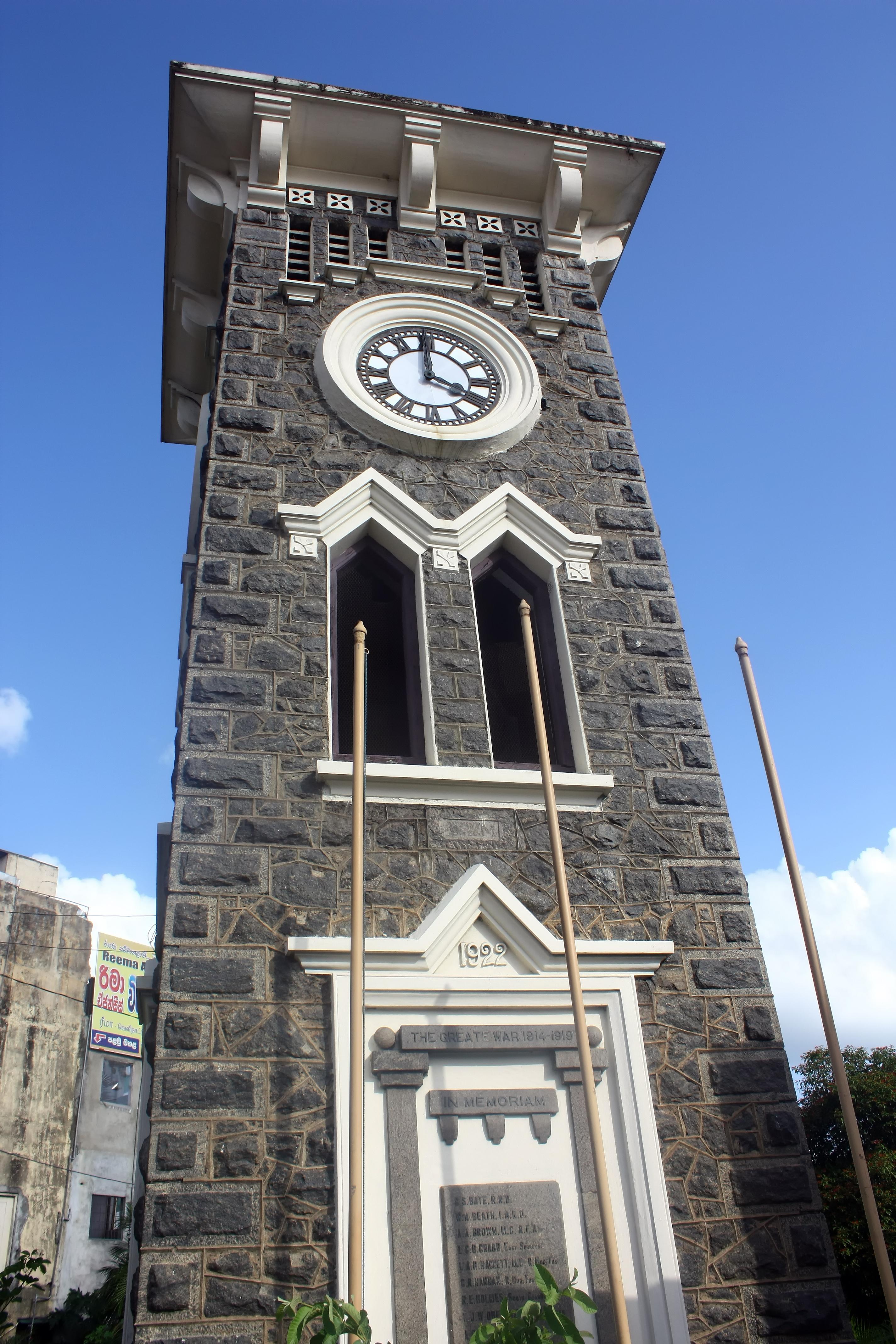 File:Clock Tower (Kurunegala).JPG - Wikimedia Commons