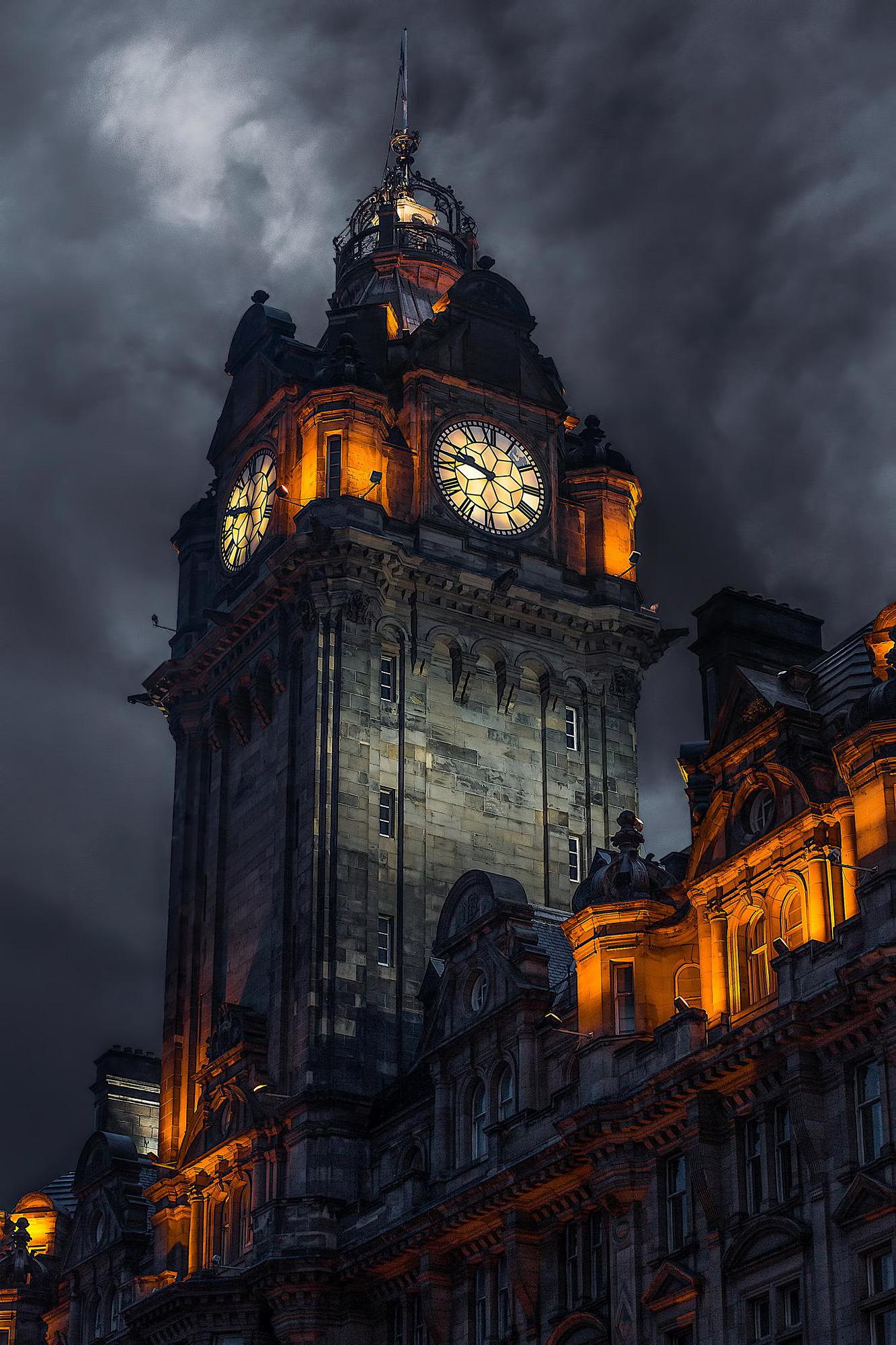 Clock Tower, Edinburgh, Scotland : evilbuildings