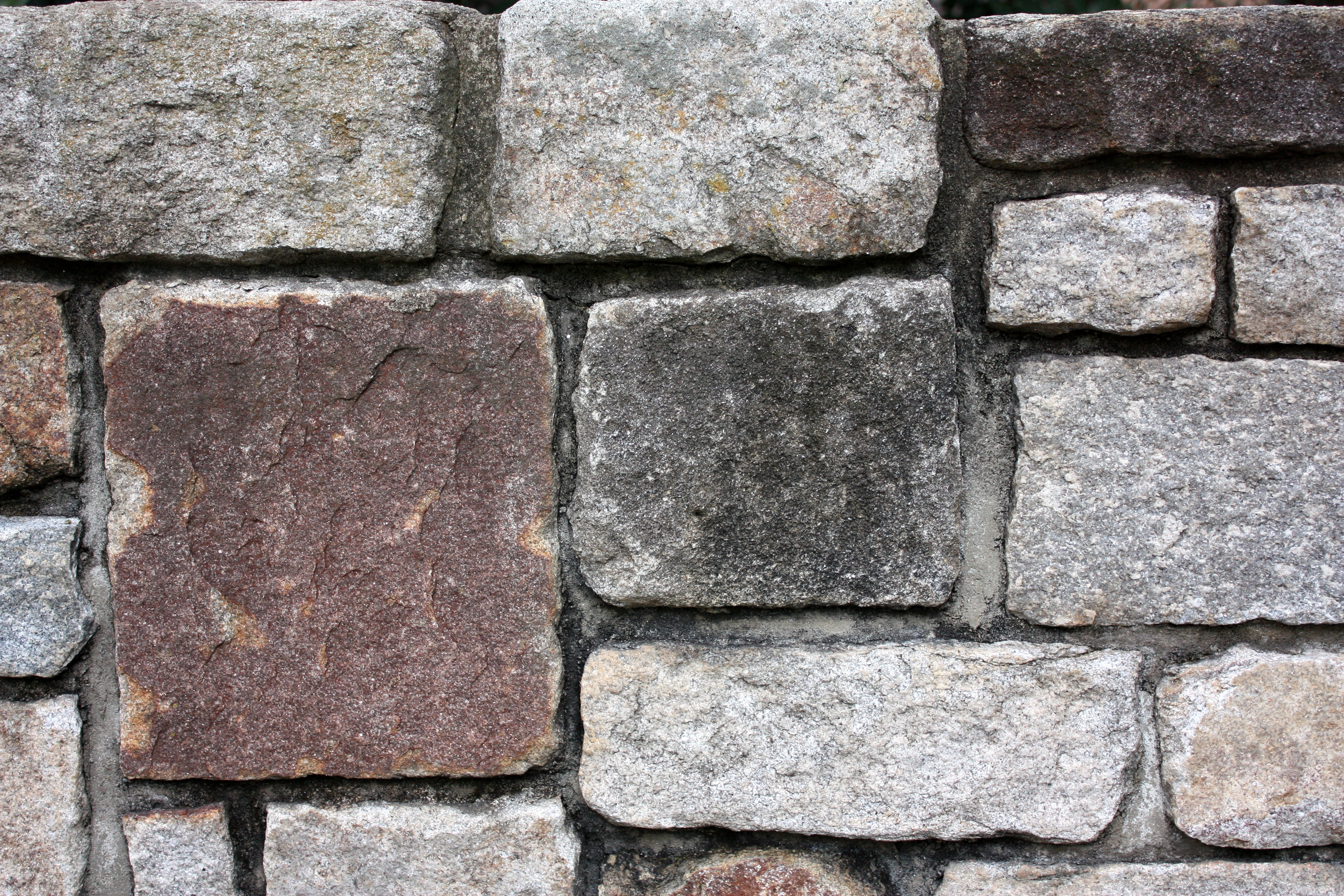 Close-up of a stone wall photo