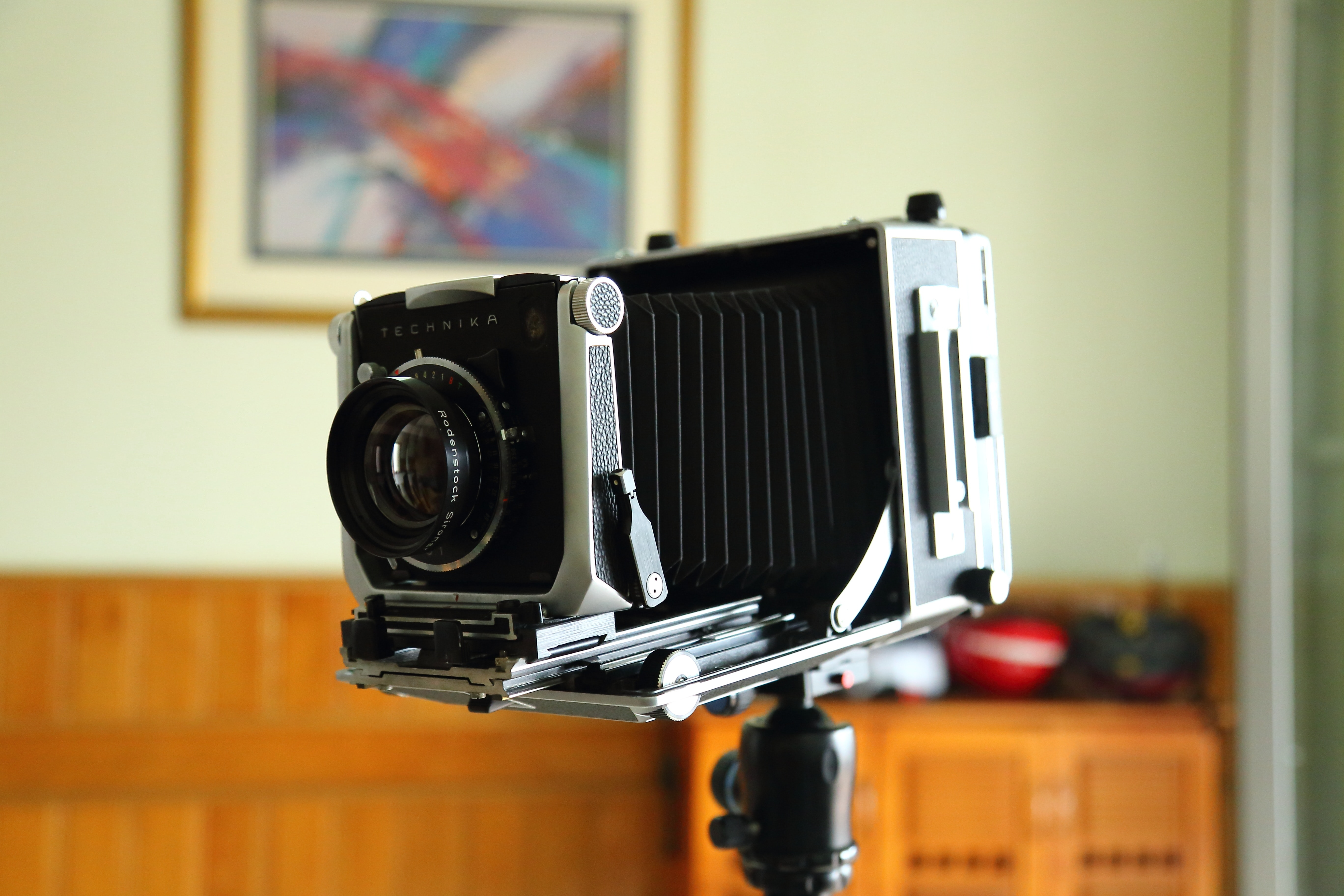 Close-up of Camera, Analogue, Optical, Vintage, Studio, HQ Photo