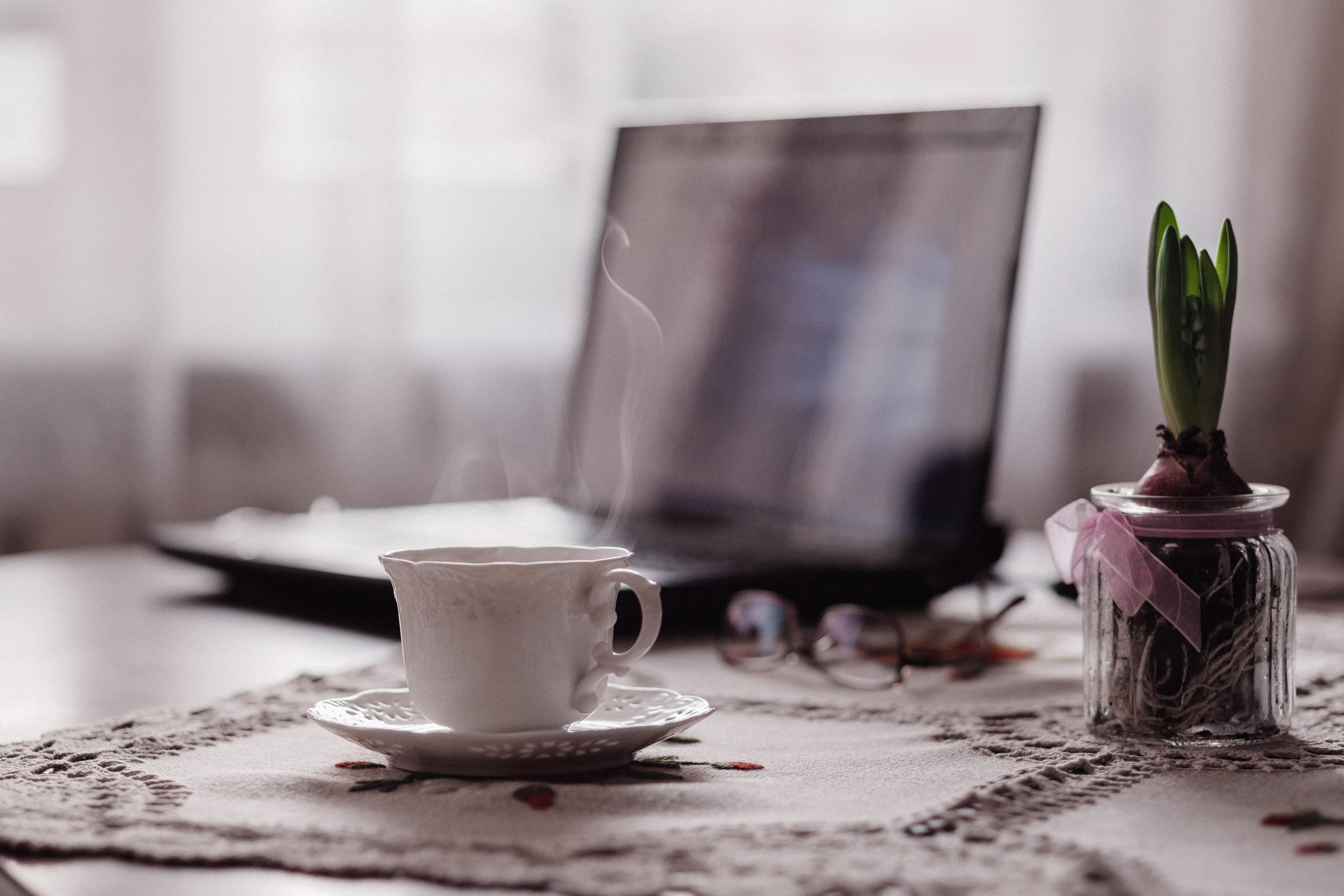 Close-up of Coffee on Table, Blur, Restaurant, Wedding, Tea, HQ Photo