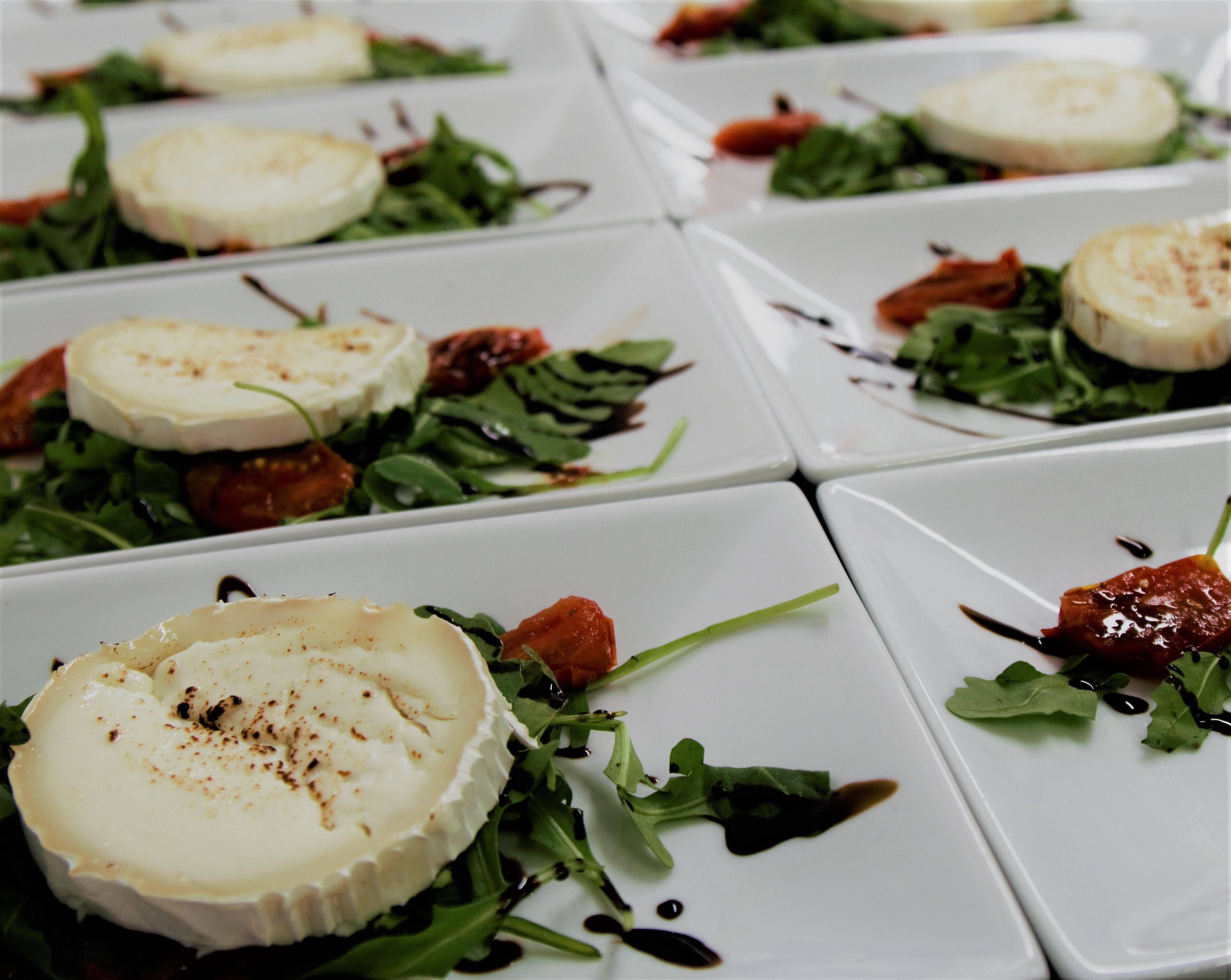 Close-up of Food on Plate, Food prep, Tasty, Seafood, Salad, HQ Photo