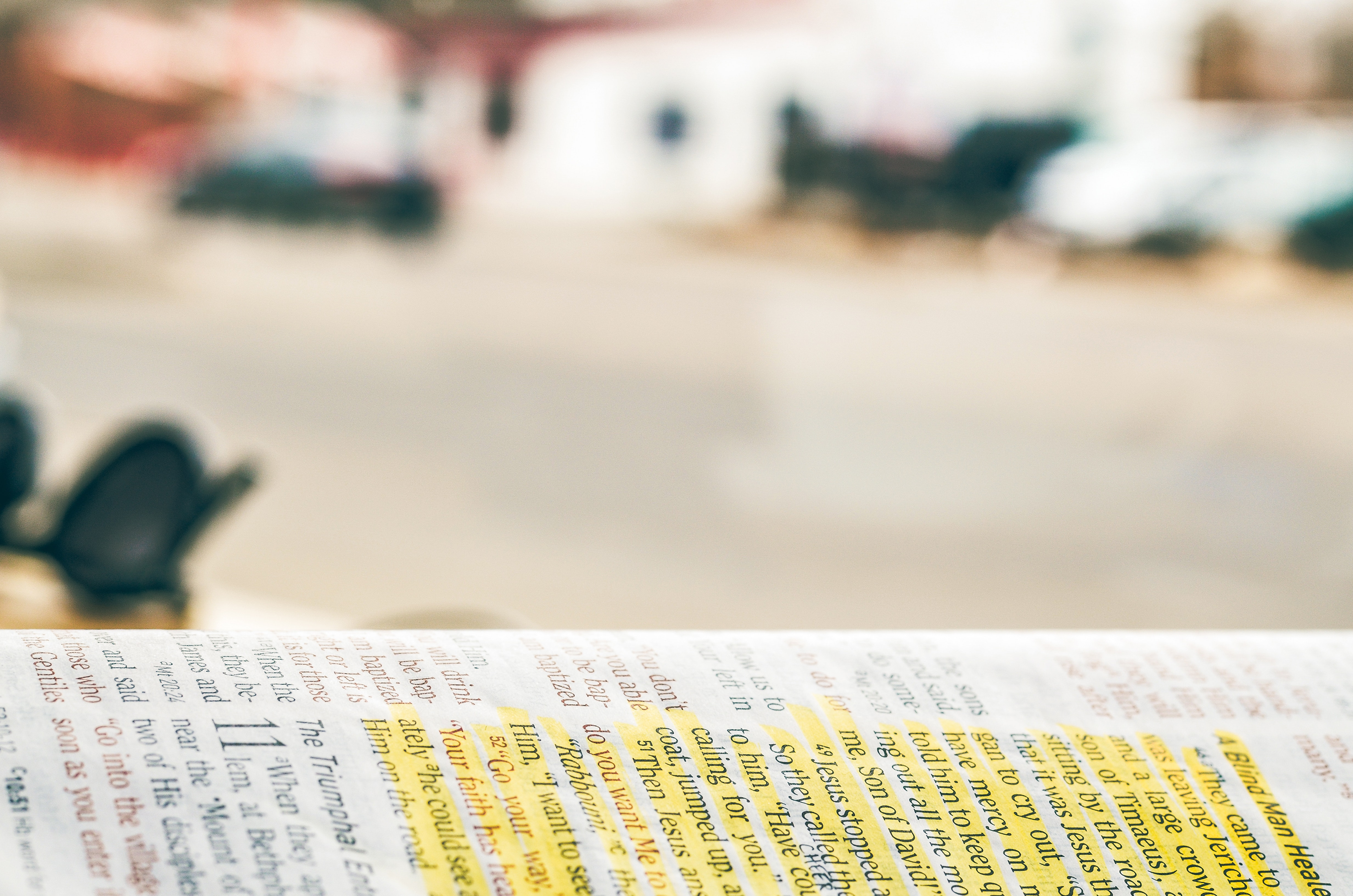 Close-up Photography of Bible, Page, Writing, Text, Still life, HQ Photo