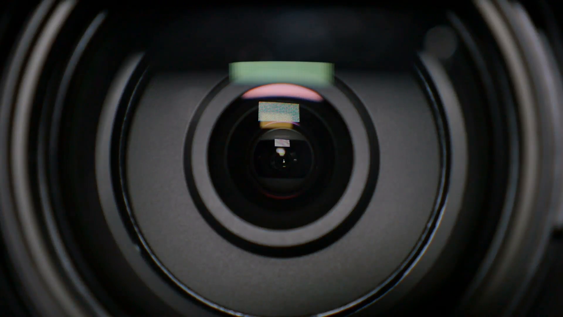 An extreme closeup of a zooming camera lens. Stock Video Footage ...