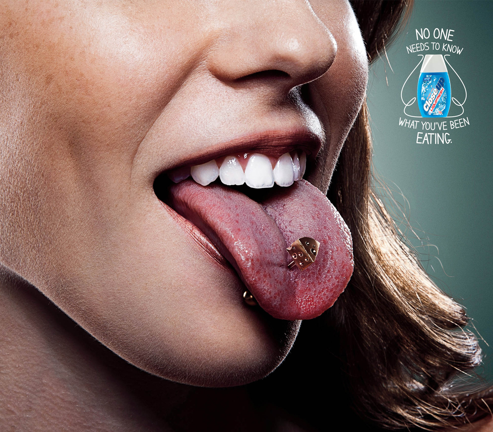 Close Up Print Advert By Lowe: Cheese | Ads of the World™