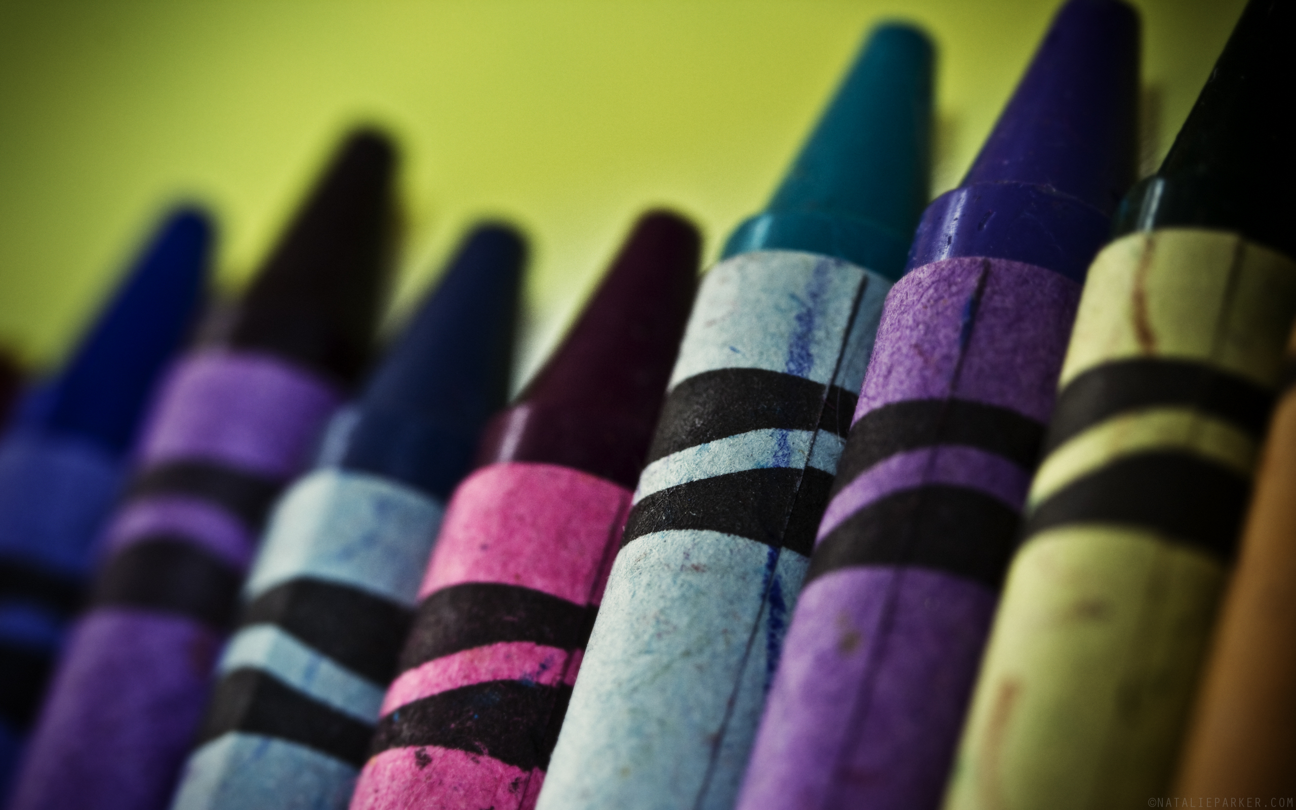 Close-up Crayons | Natalie Parker Photography