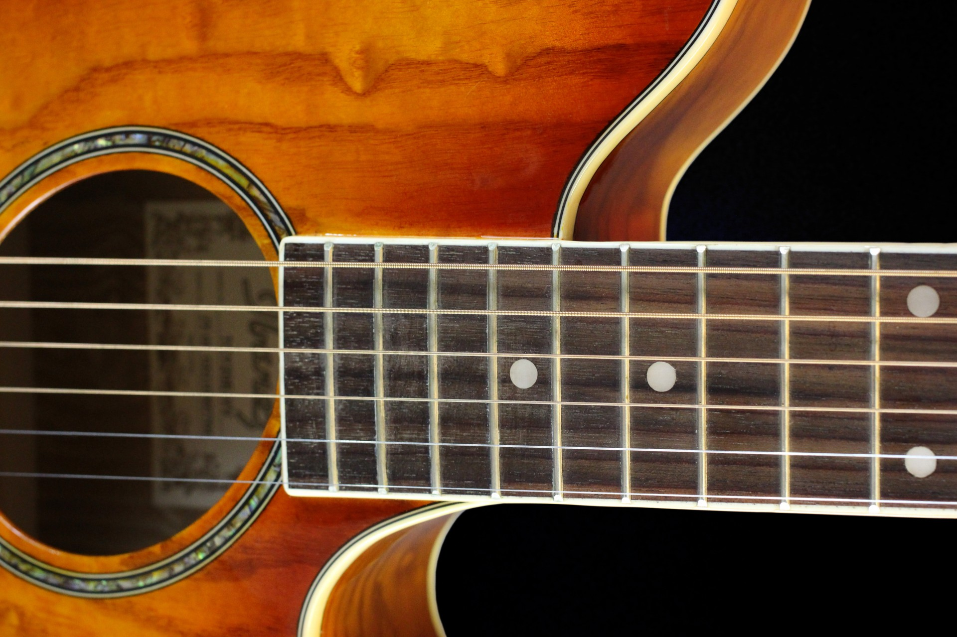 Acoustic Guitar Close-up Free Stock Photo - Public Domain Pictures