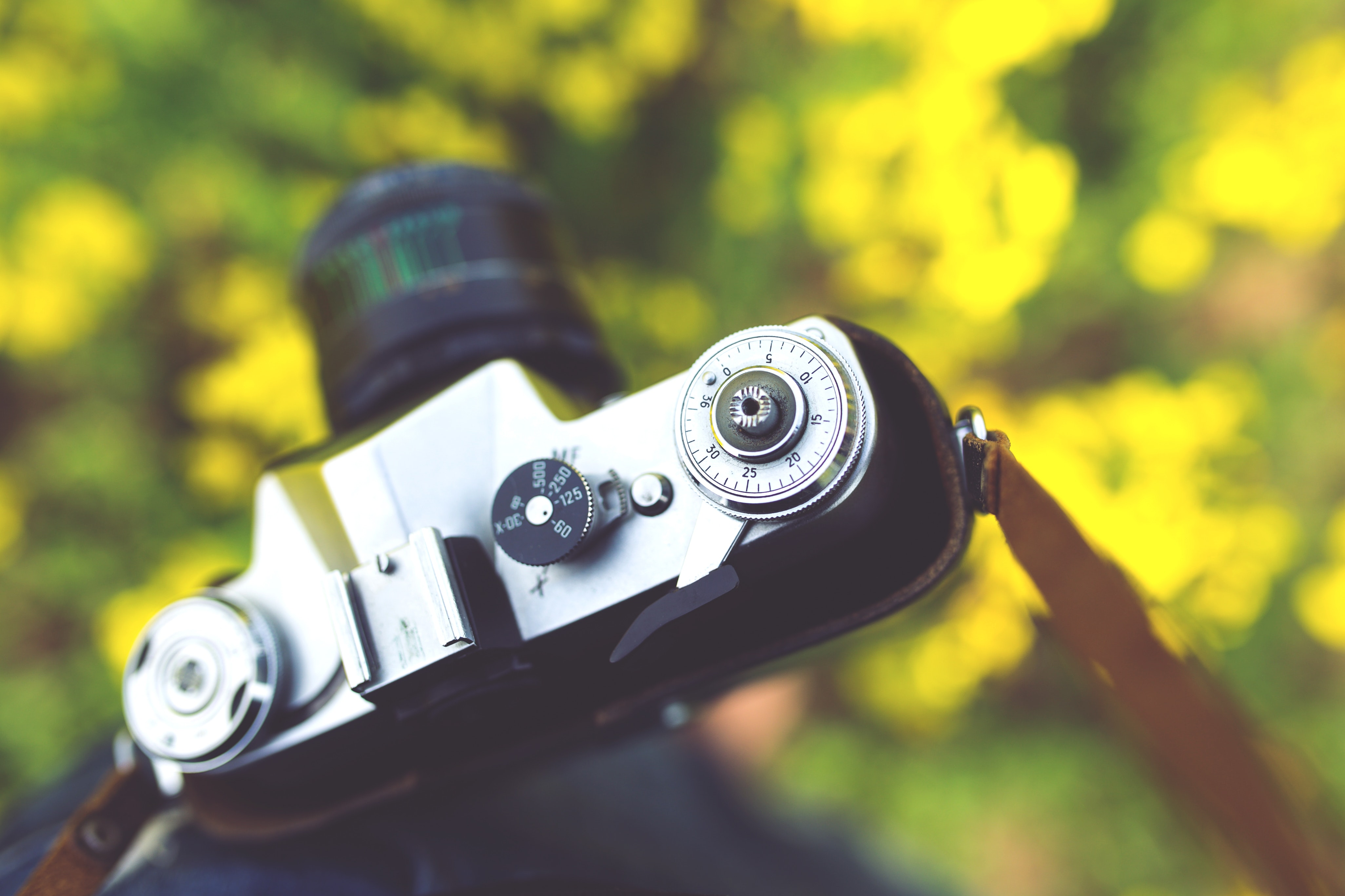 Closeup of vintage camera, Camera, Old, Photographer, Photography, HQ Photo