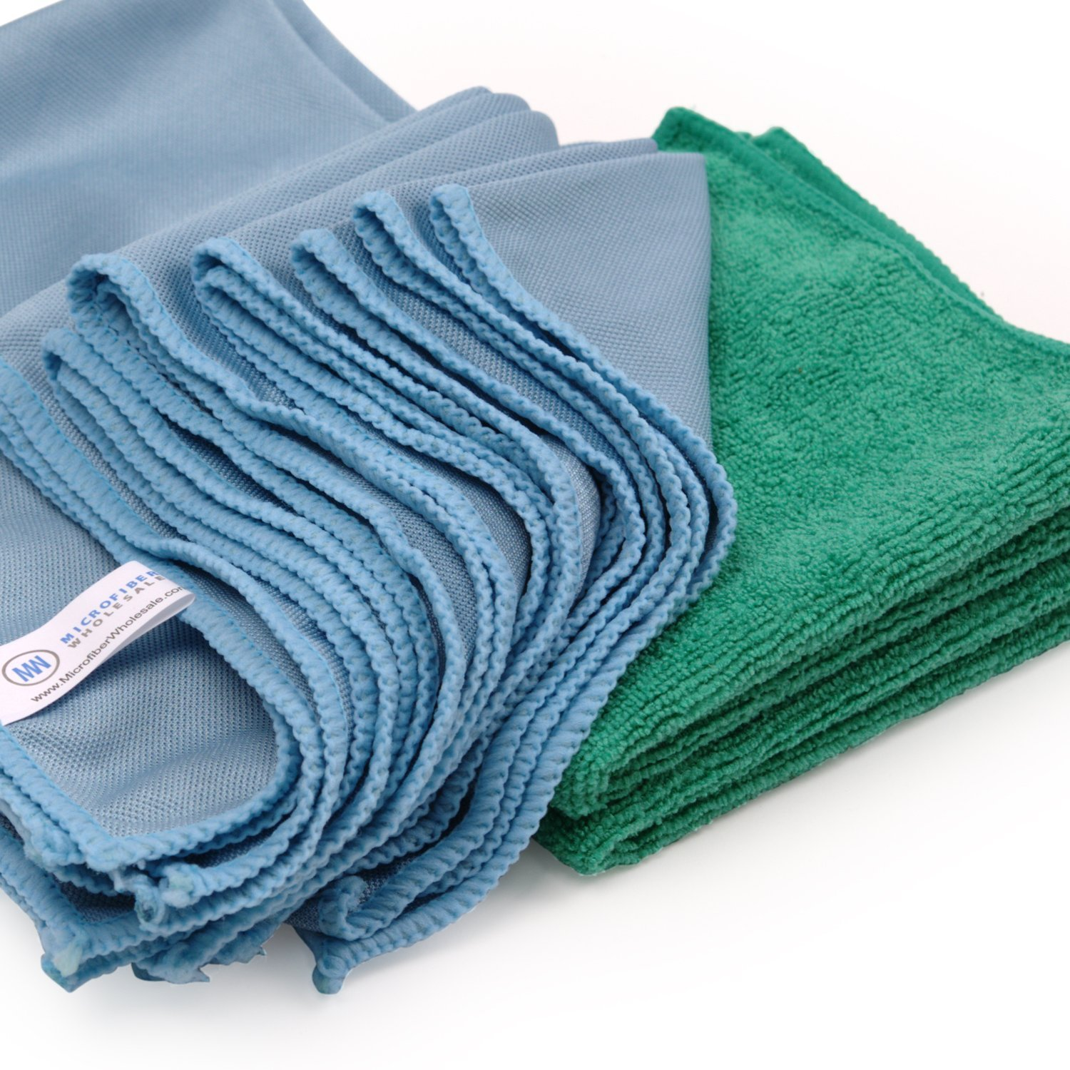 Amazon.com: Microfiber Glass Cleaning Cloths - 8 Pack | Lint Free ...