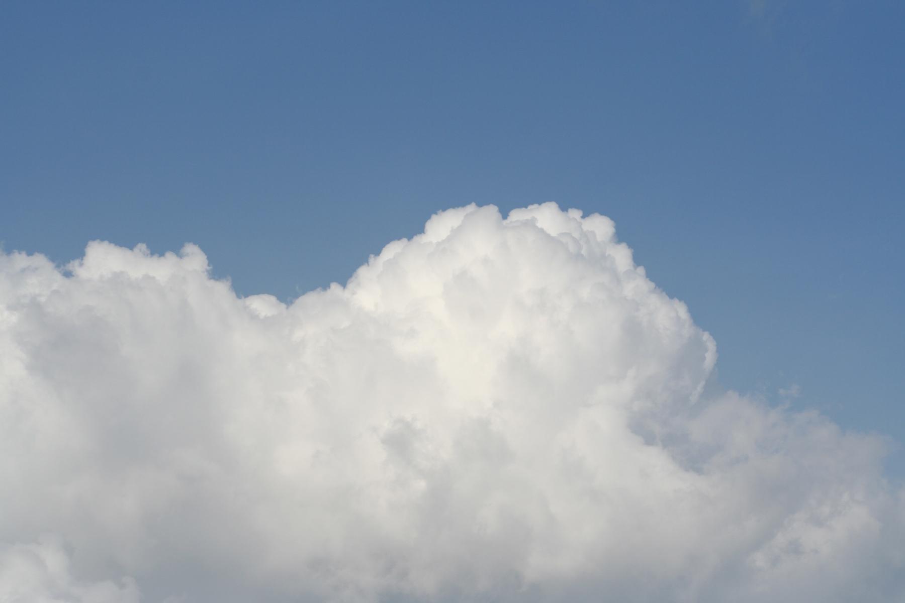 Clouds, Blue, Heaven, Sky, White, HQ Photo