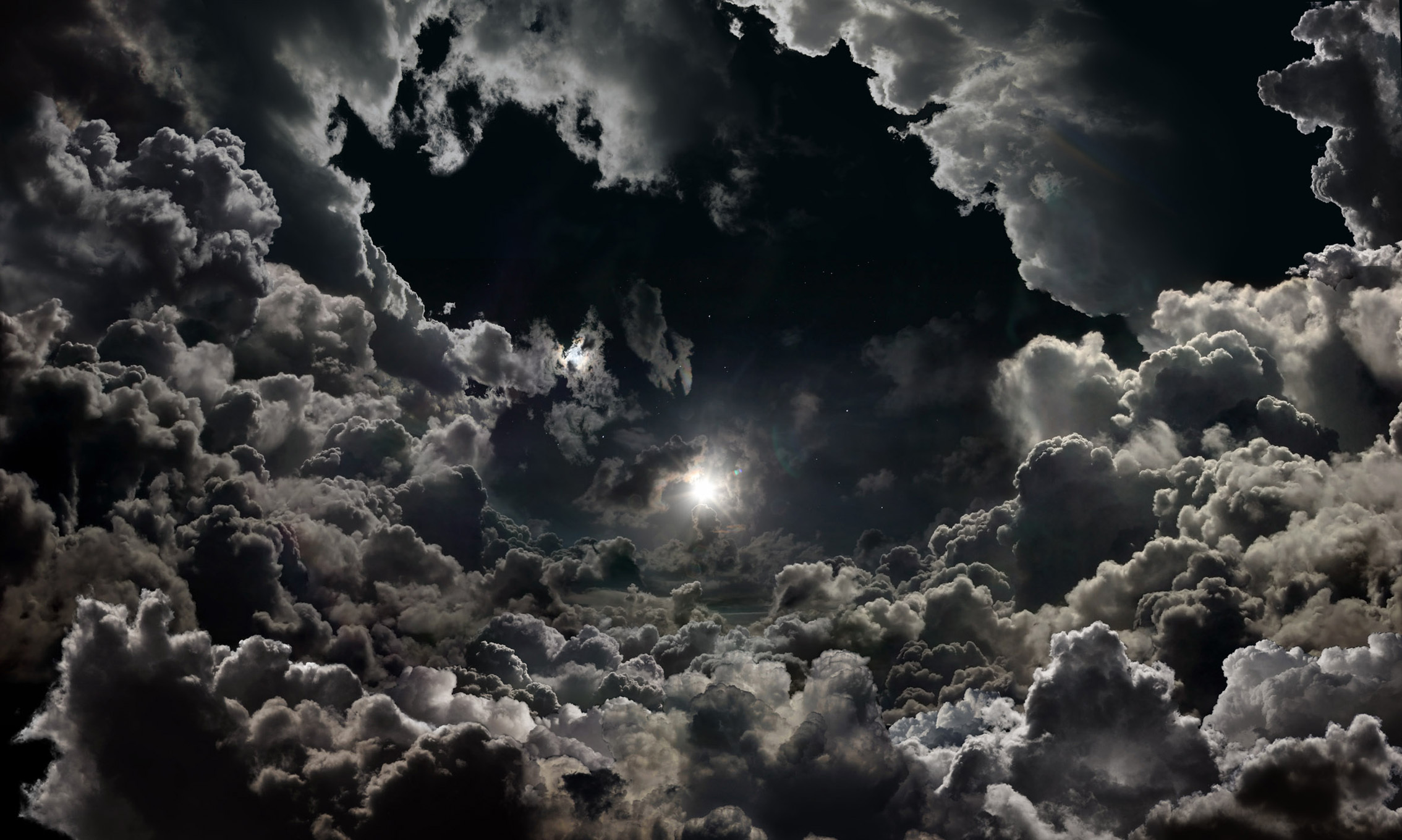 Clouds and stars / 2268 x 1360 / Fantasy, Skyandclouds / Photography ...