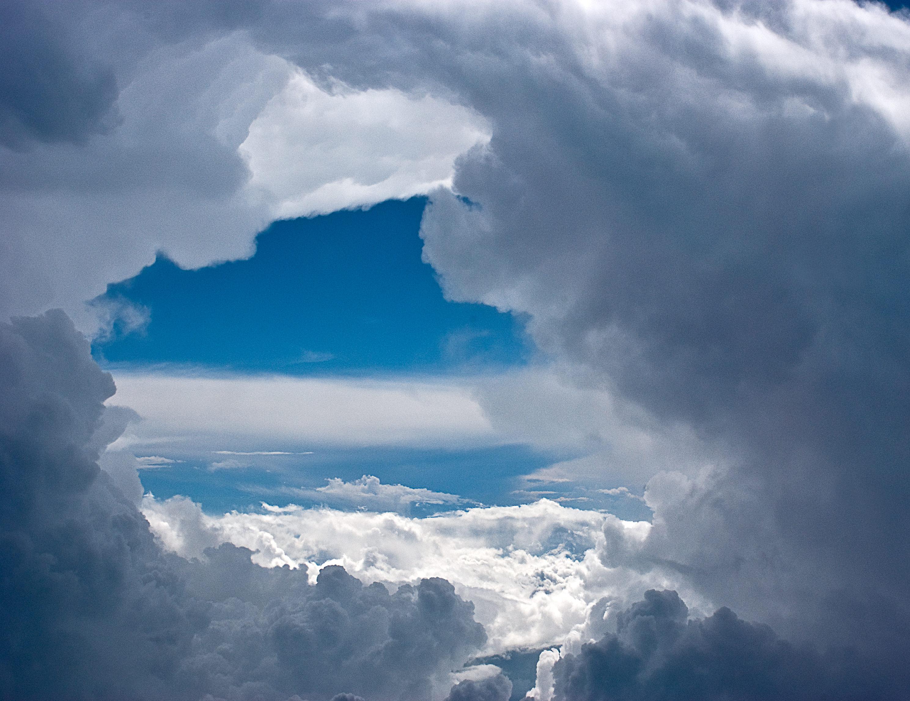 Clouds, Above, Altitude, Blue, Cloud, HQ Photo