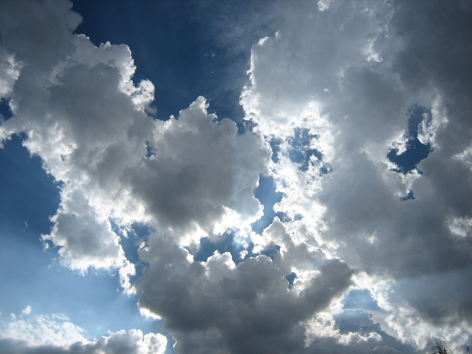 Clouds, Blue, Bspo06, Light, Puffy, HQ Photo
