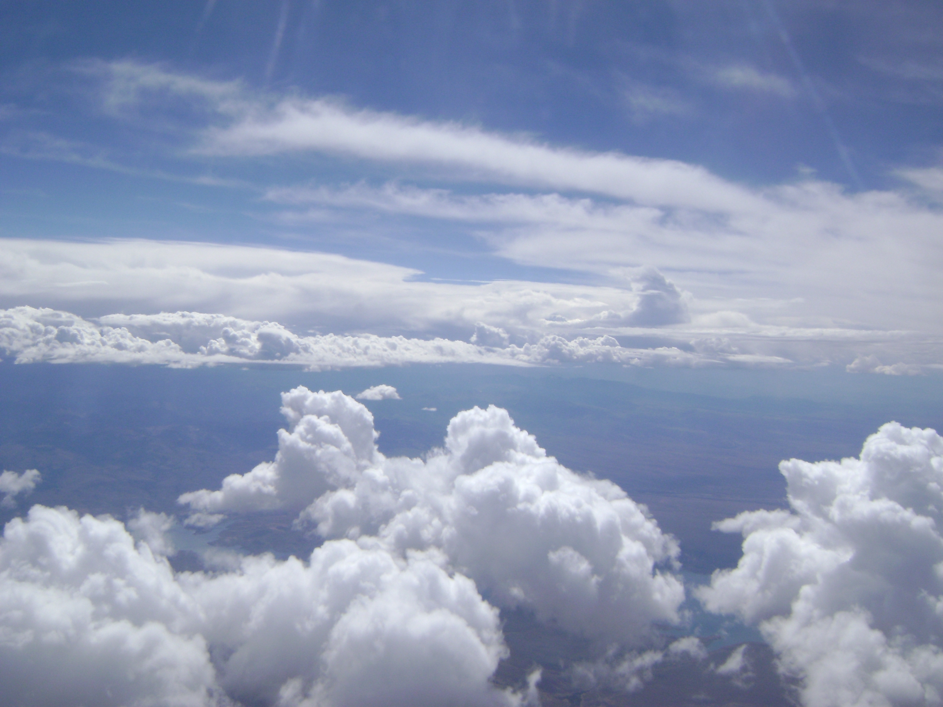 Clouds in the sky photo