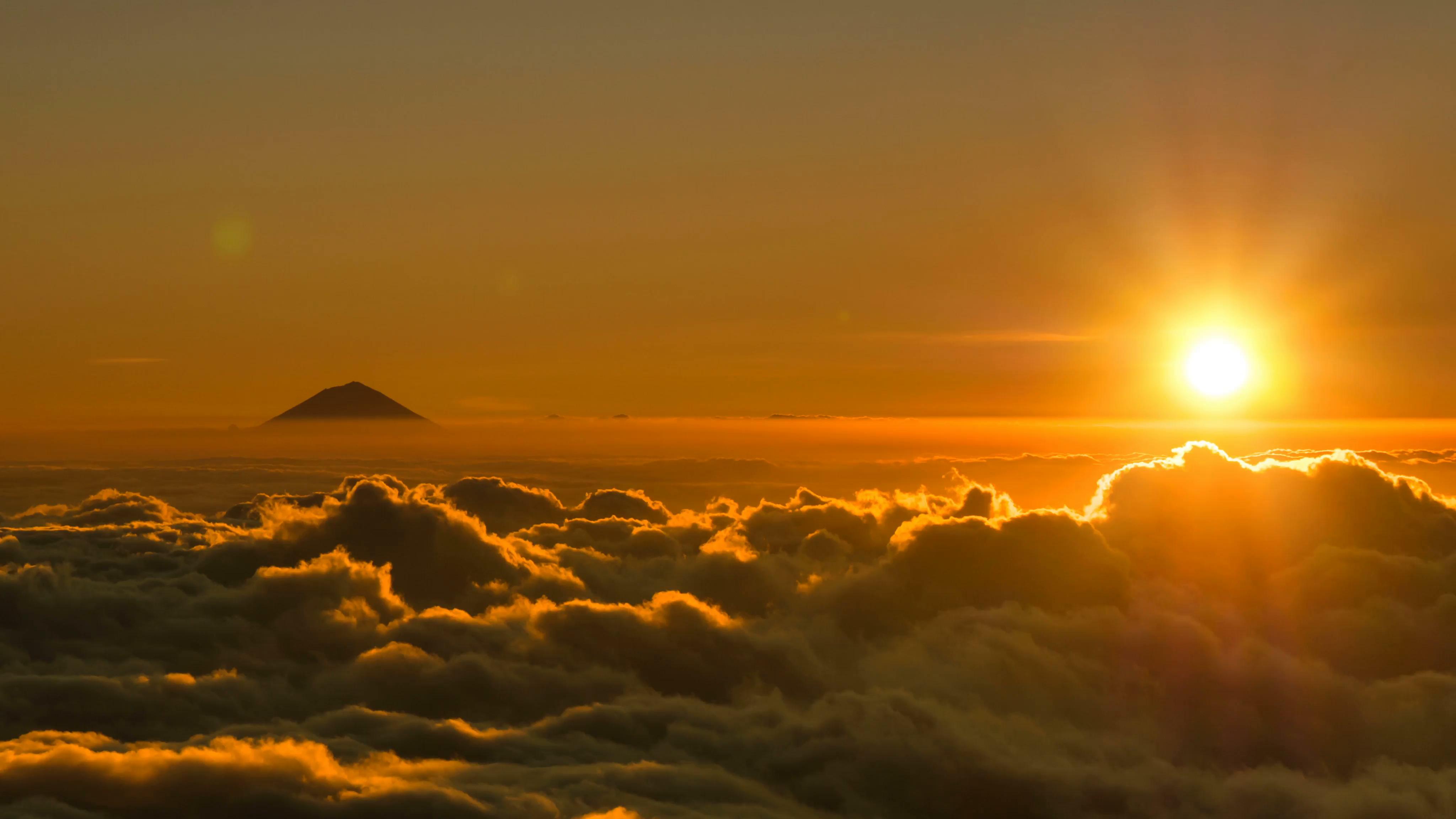 Free photo: Sun going down - Sun, Sundown, Sunset - Free ...