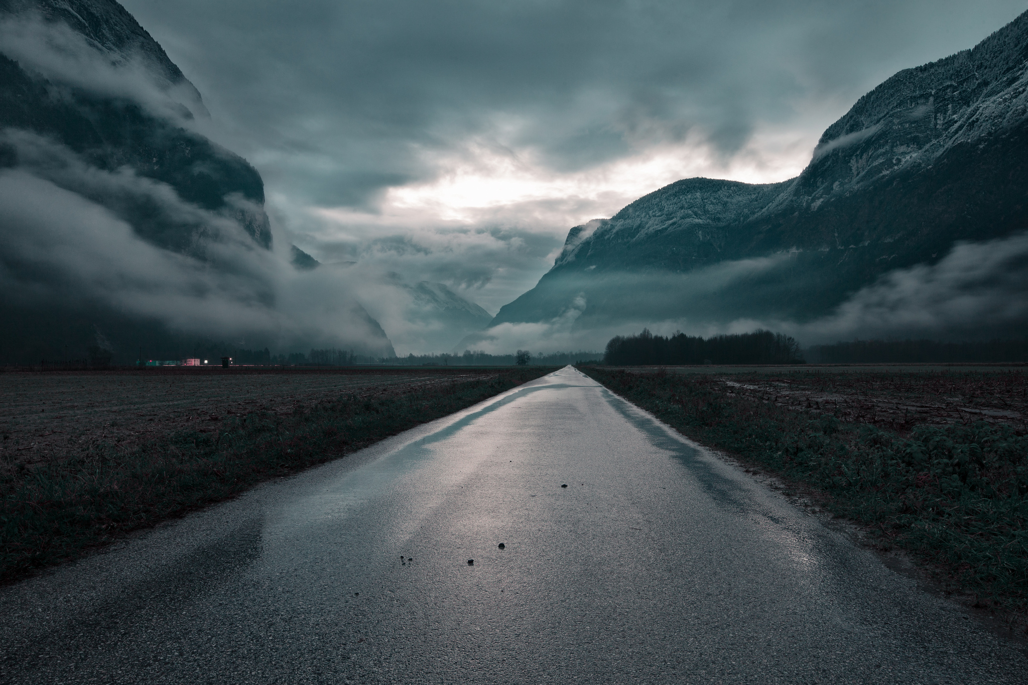 Wandering clouds photo