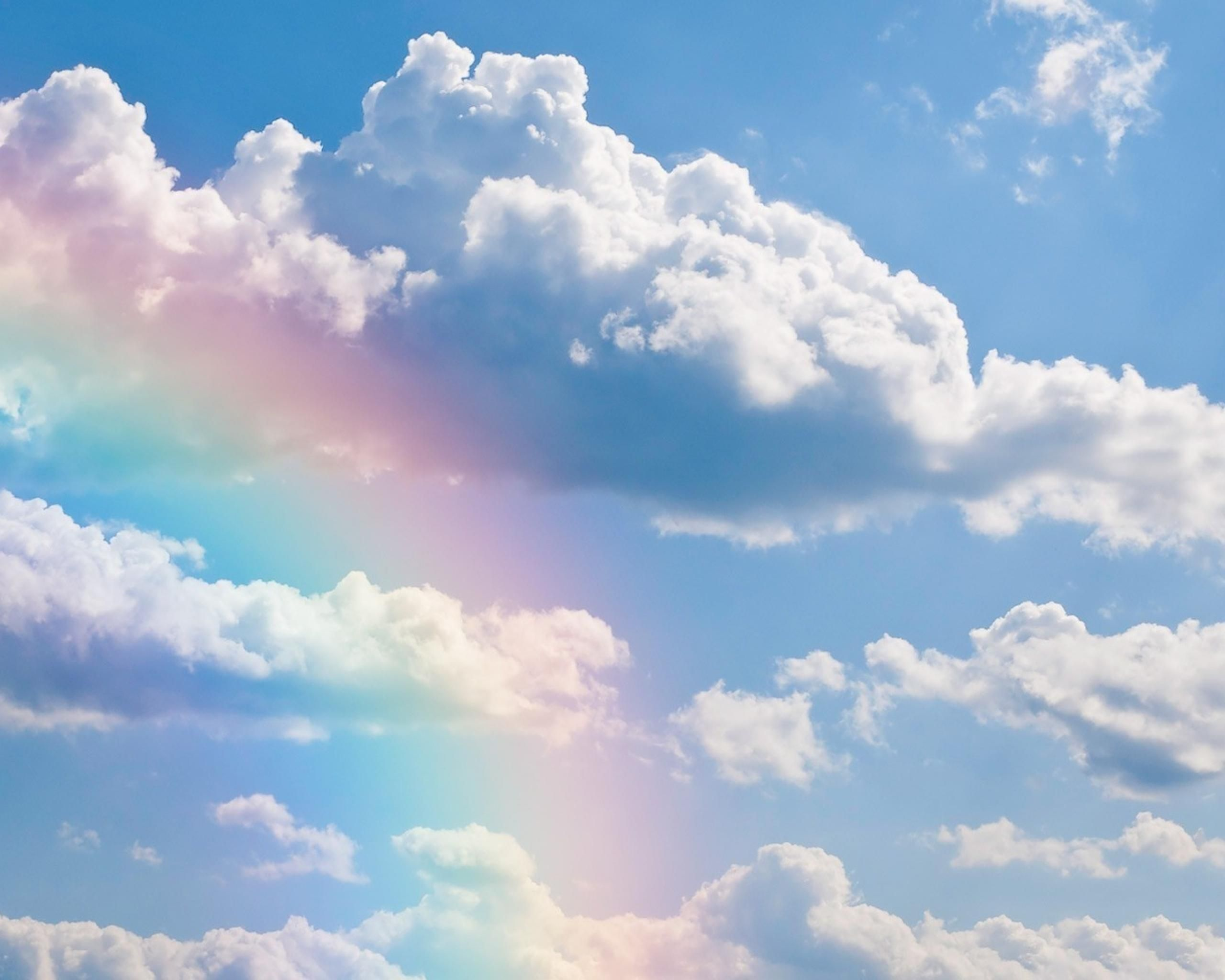 Rainbows | Rainbows Clouds Sky Rainbow Nature Free Hd Wallpaper with ...