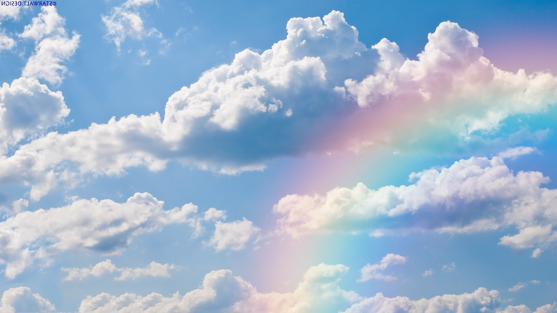 Real Rainbows and Clouds HD Wallpaper, Background Images