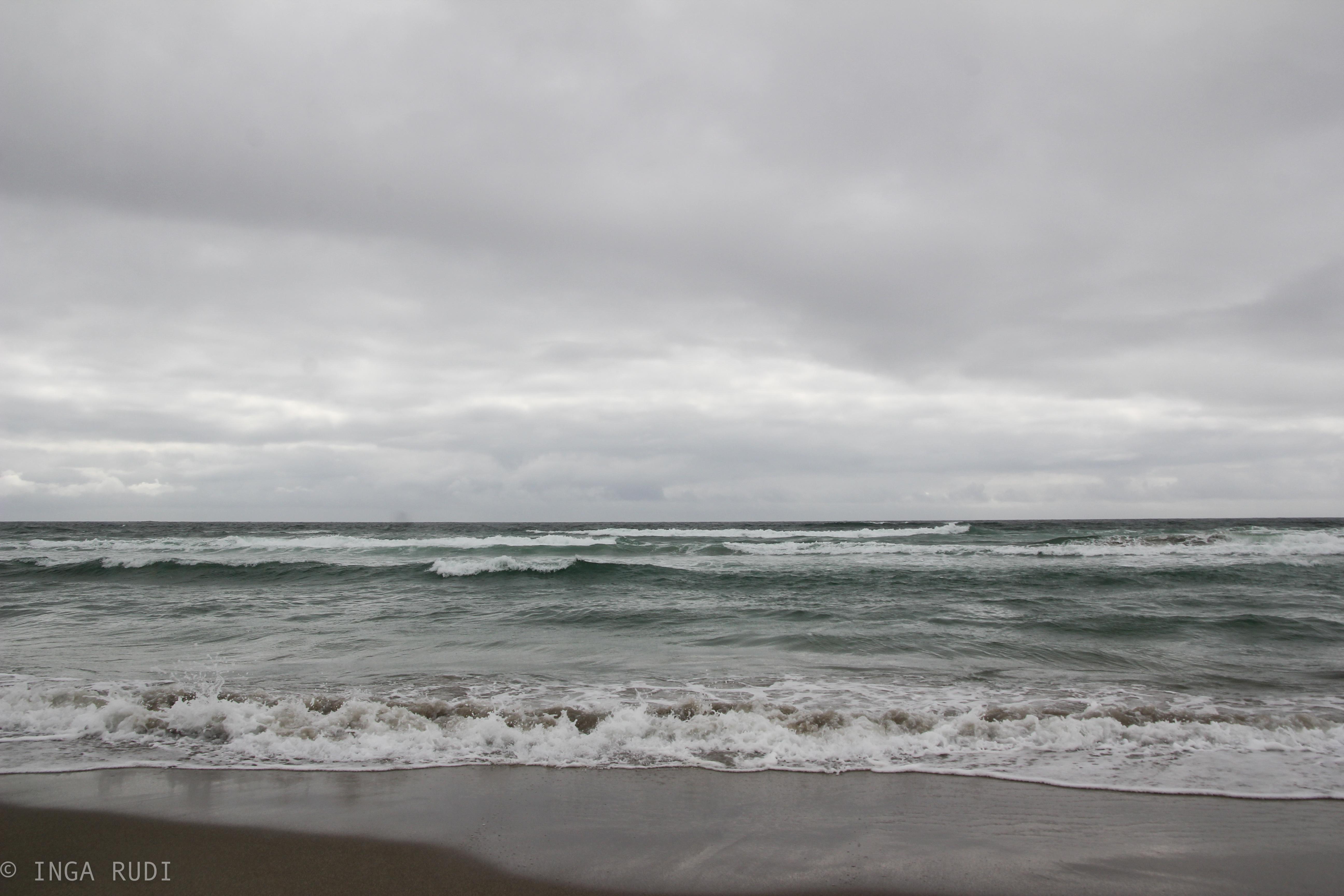 A beach in Jæren on a cloudy day – ingaphotography
