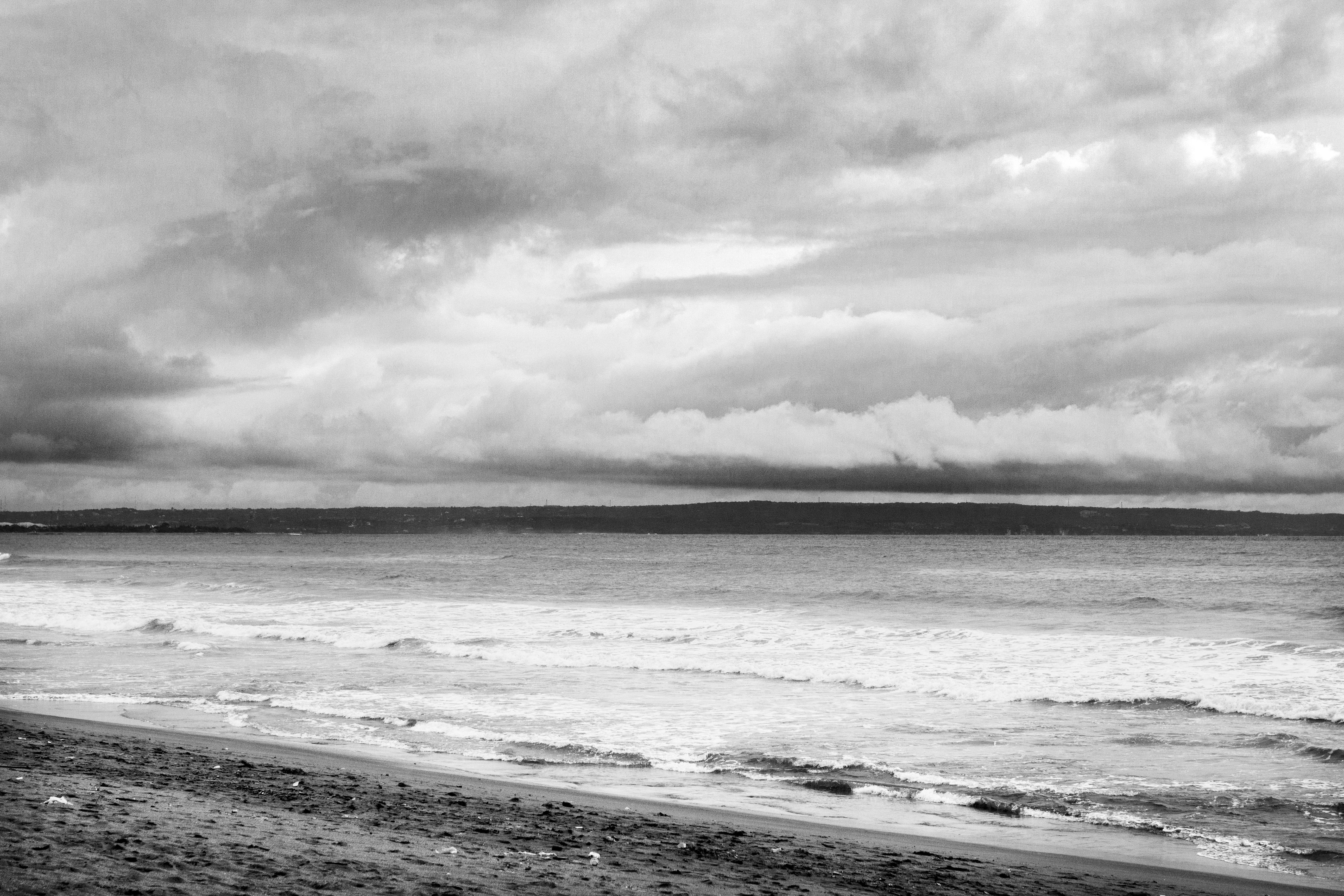 Cloudy Beach, Cloud, Cloudy, Flow, Nature, HQ Photo