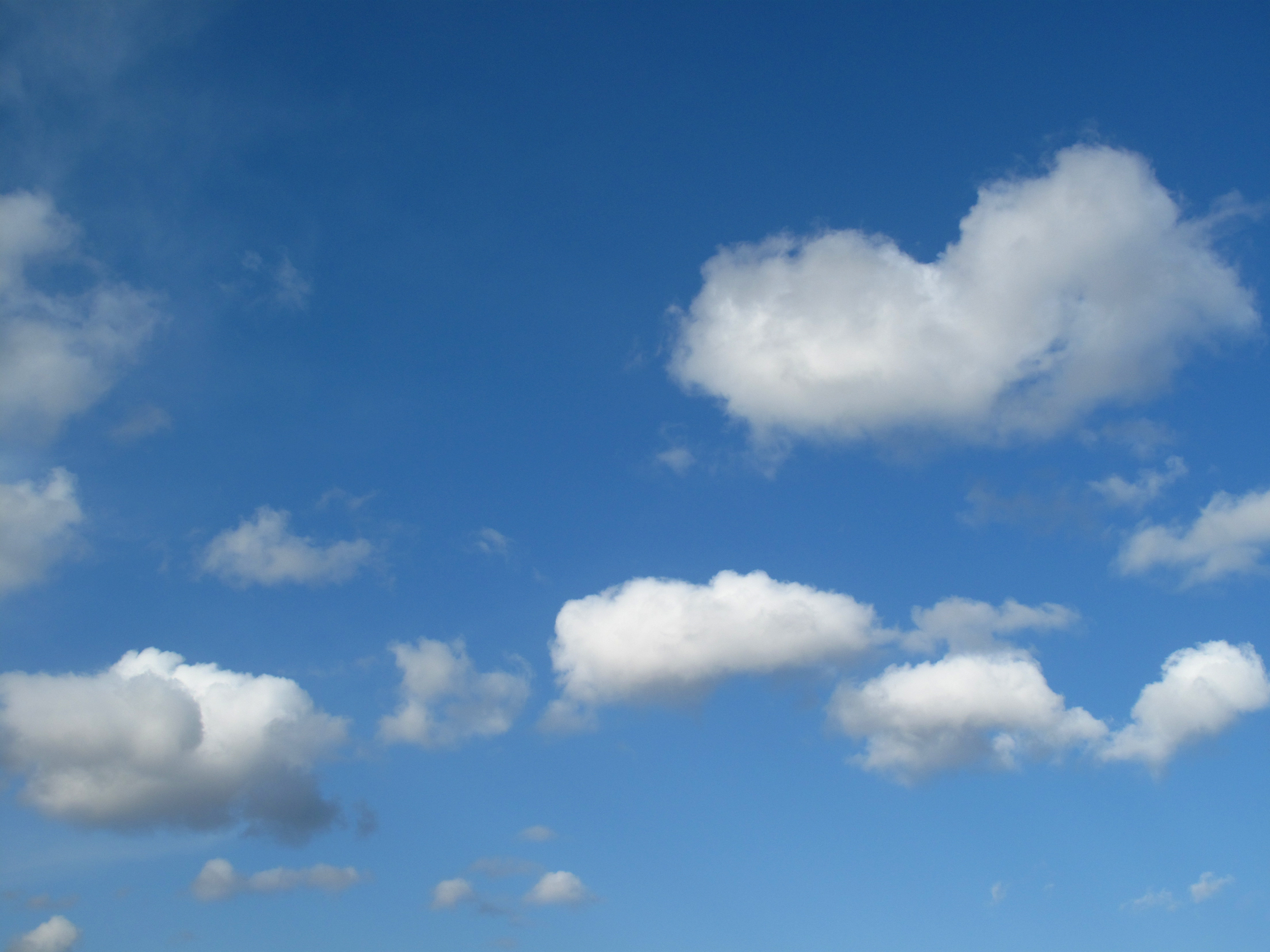 Cloudy Day, FREE Stock Photo, Image, Picture: Cloudy Blue Sky ...