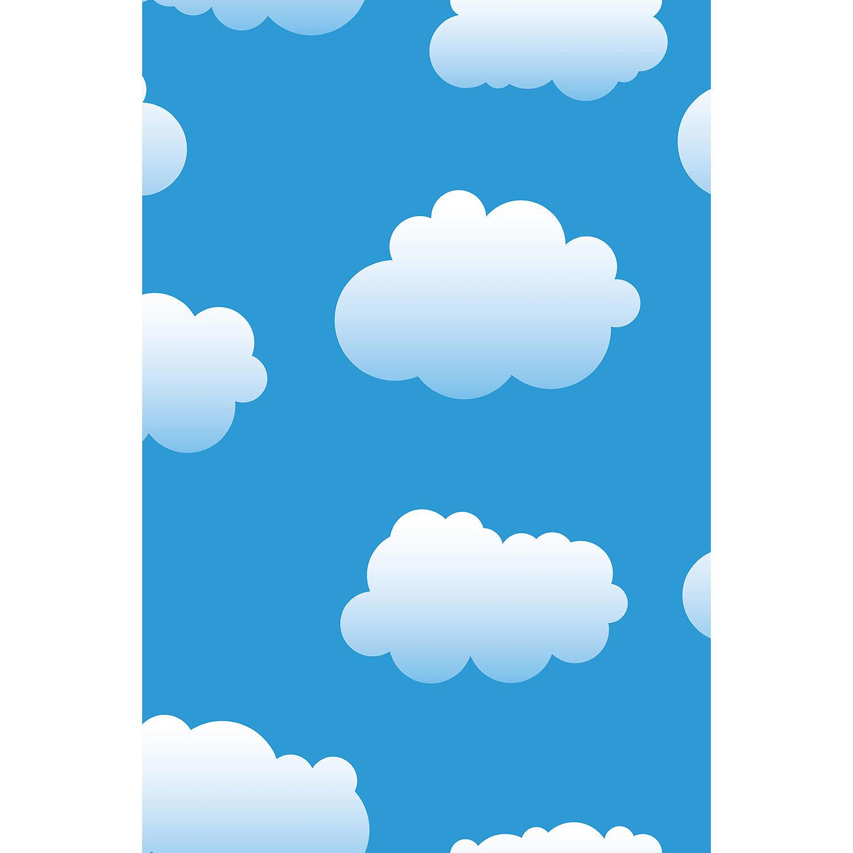 Savage Cloudy Blue Sky Printed Vinyl Backdrop (5x7') P-VL888 B&H