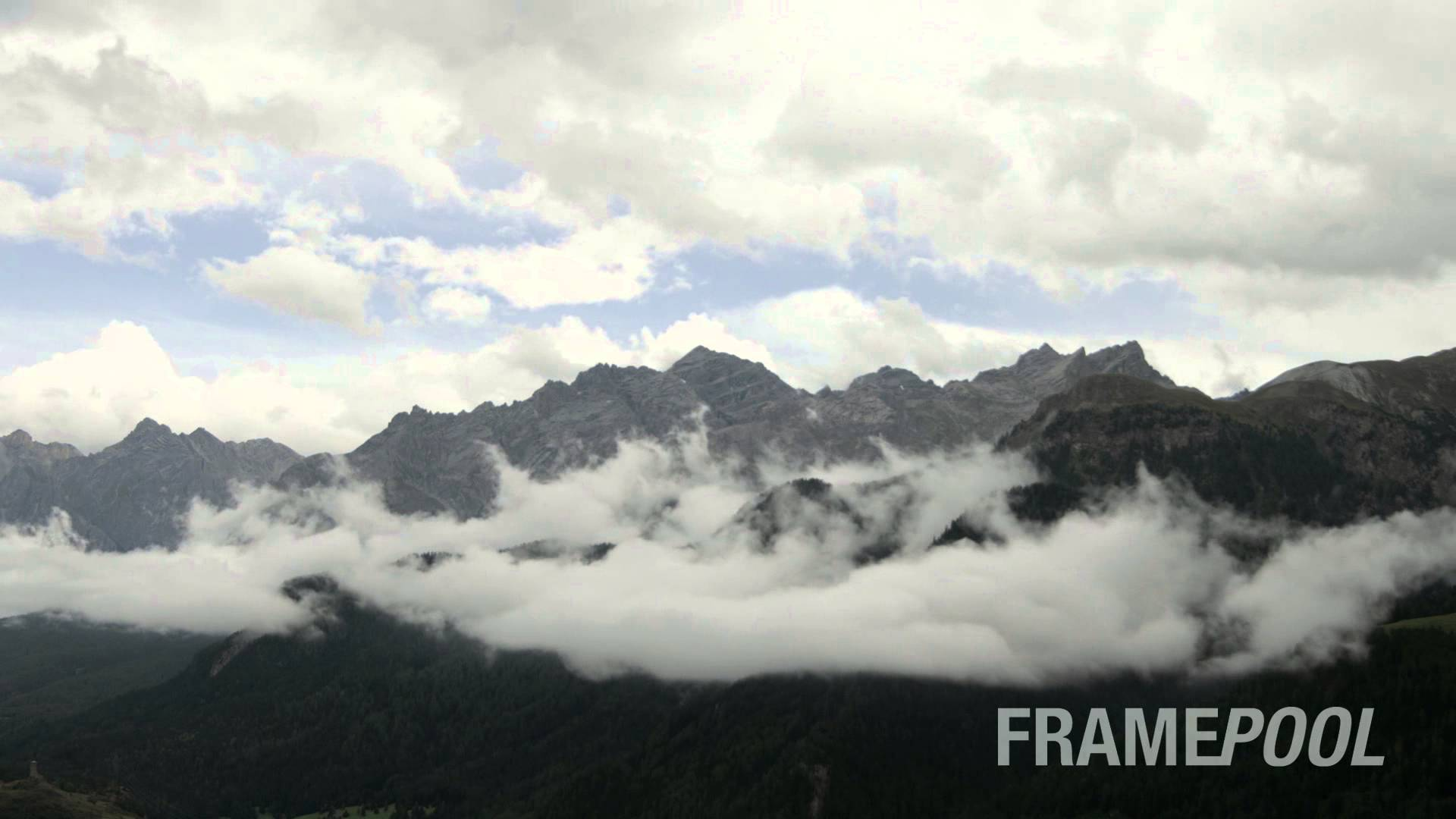 Cloudy Mountains Time Lapse - YouTube