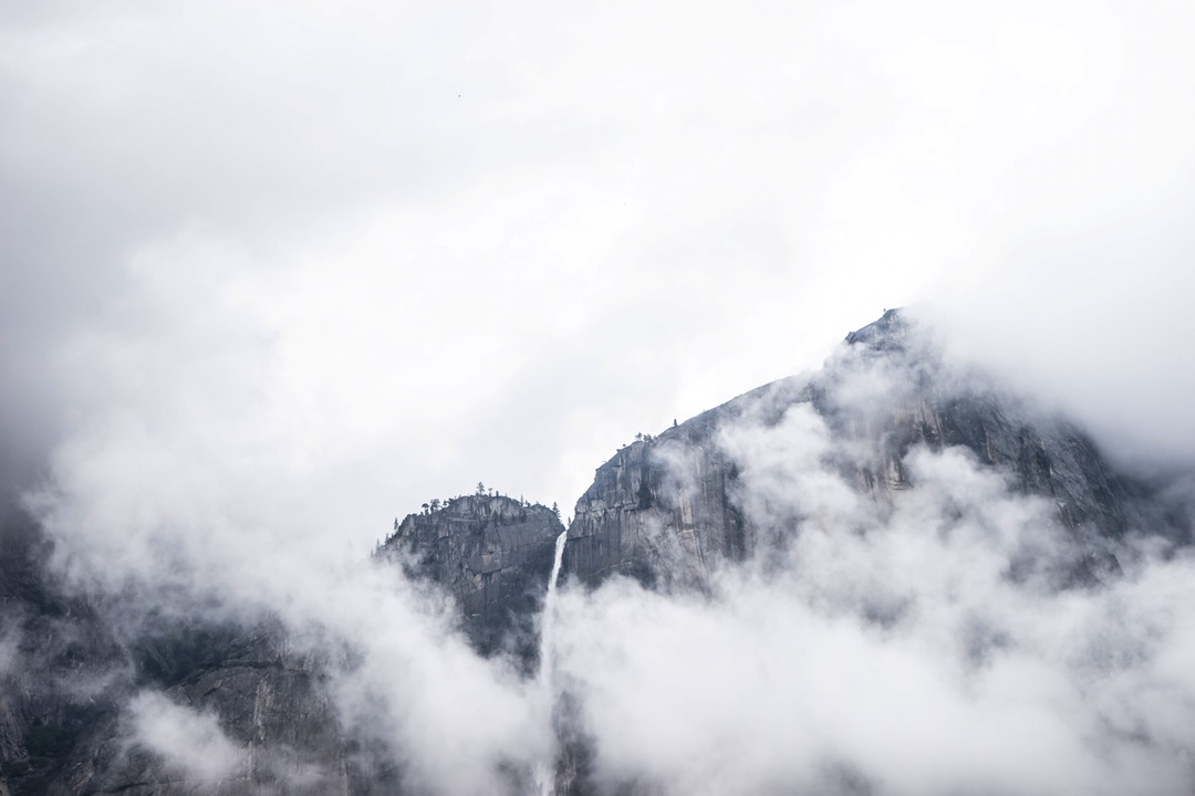 Cloudy Mountain Tops, Altitude, Cloud, High, Mountain, HQ Photo