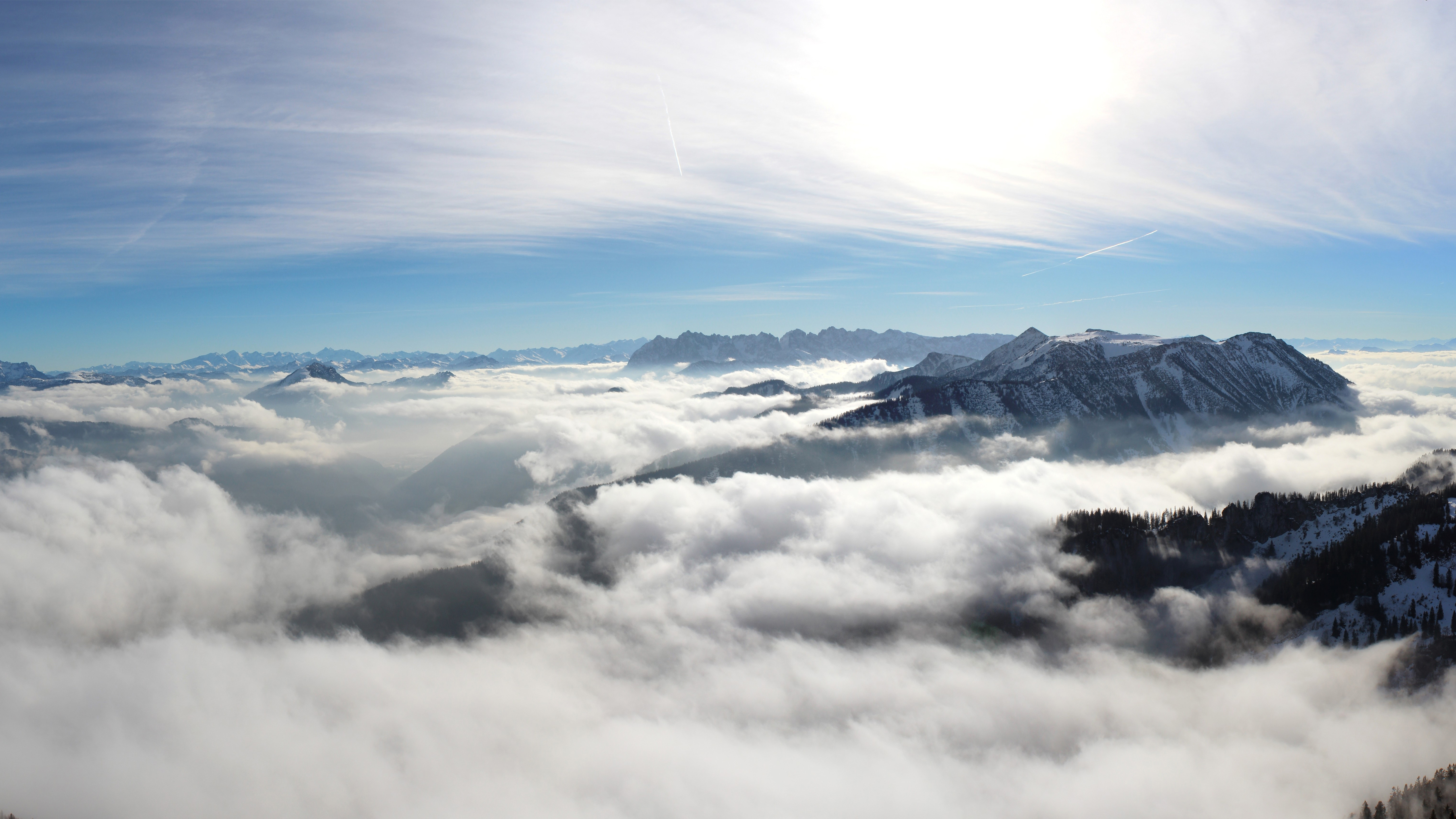 Cloudy Mountains 4K 5K Wallpapers | HD Wallpapers | ID #17107