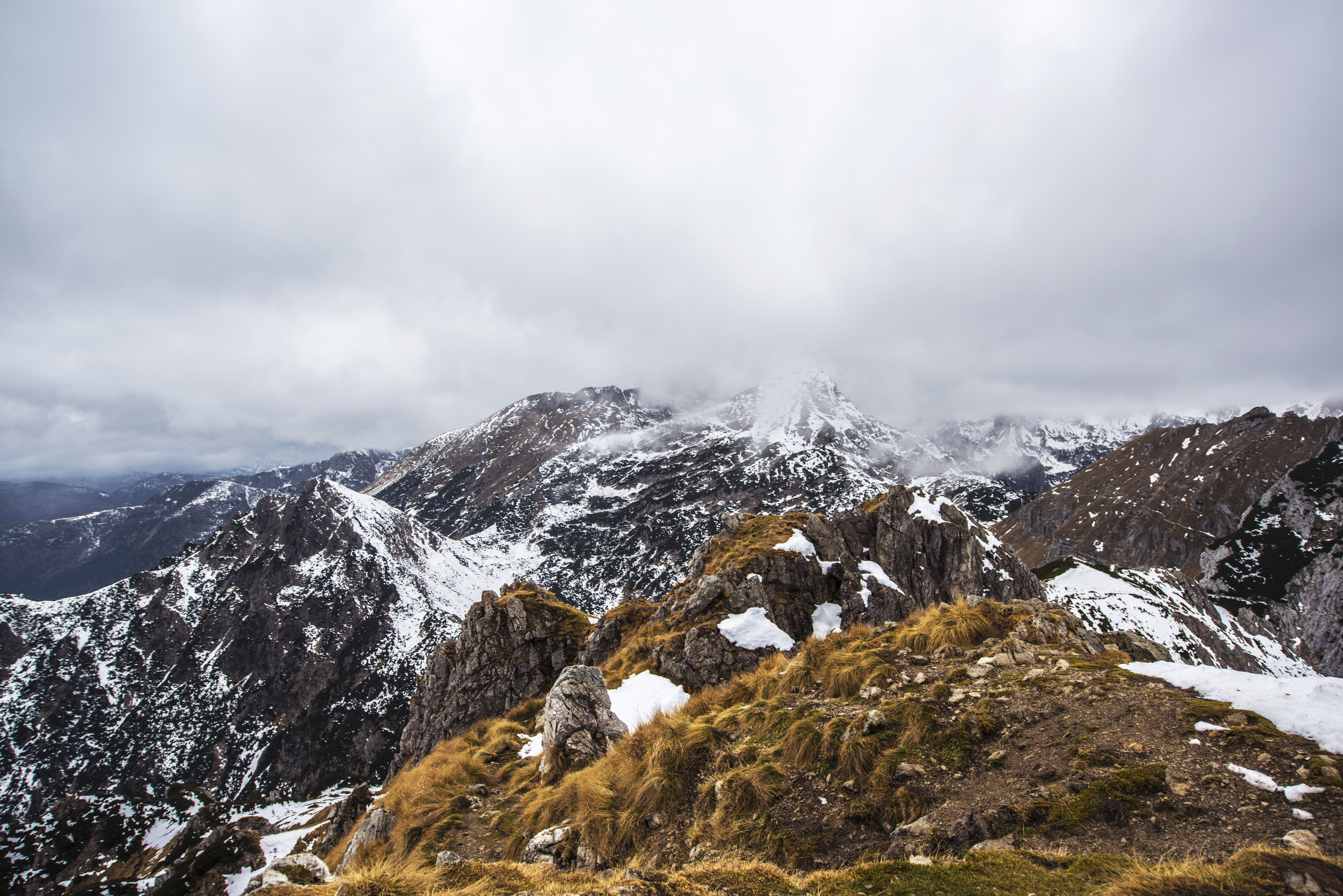 Cloudy Mountains, Altitude, Cloud, Cloudy, Height, HQ Photo