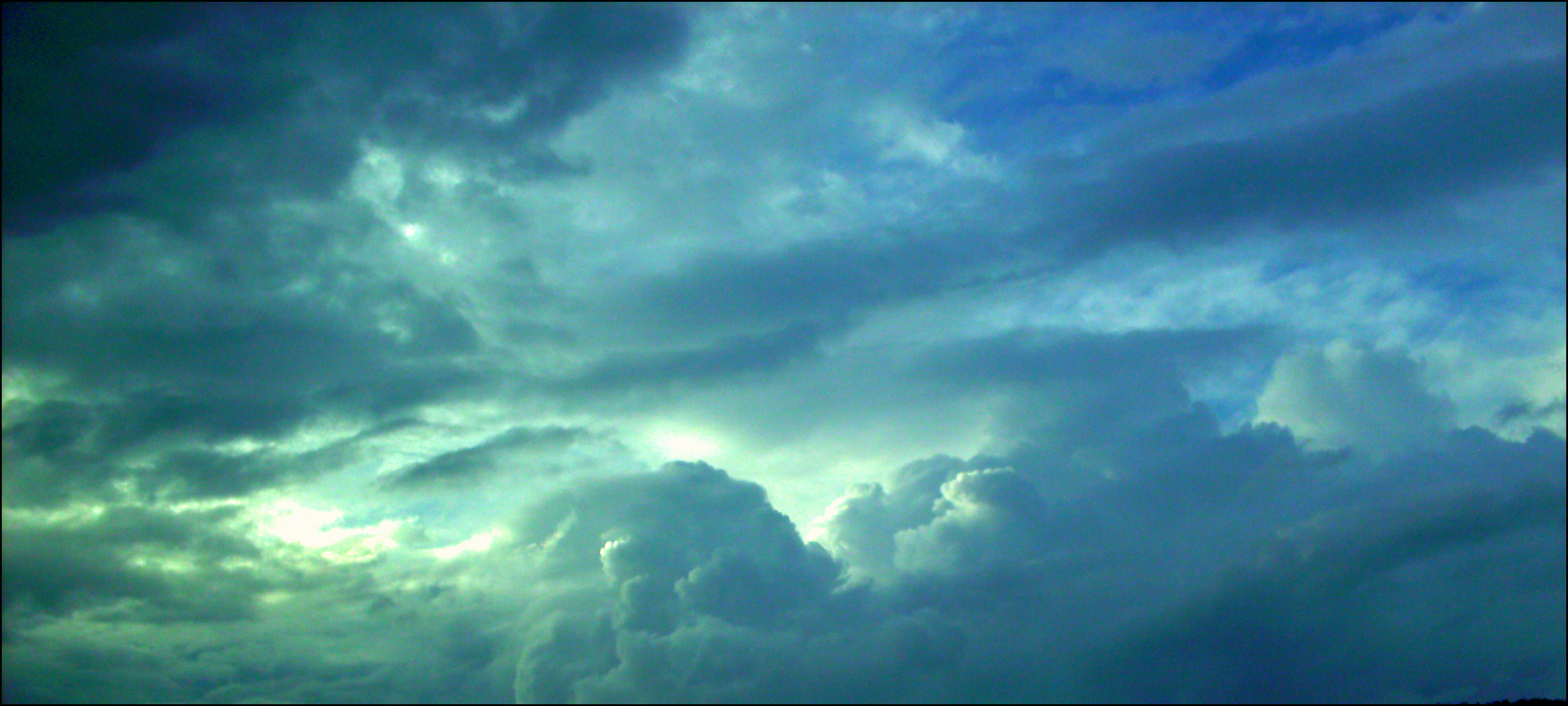 Cloudy Sky - Panorama by JulieLovesMusic on DeviantArt