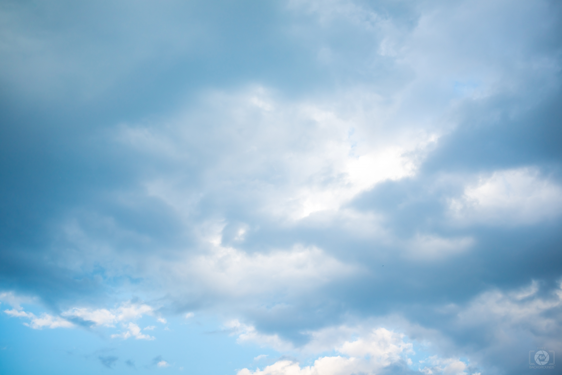 Blue Cloudy Sky Background - High-quality Free Backgrounds