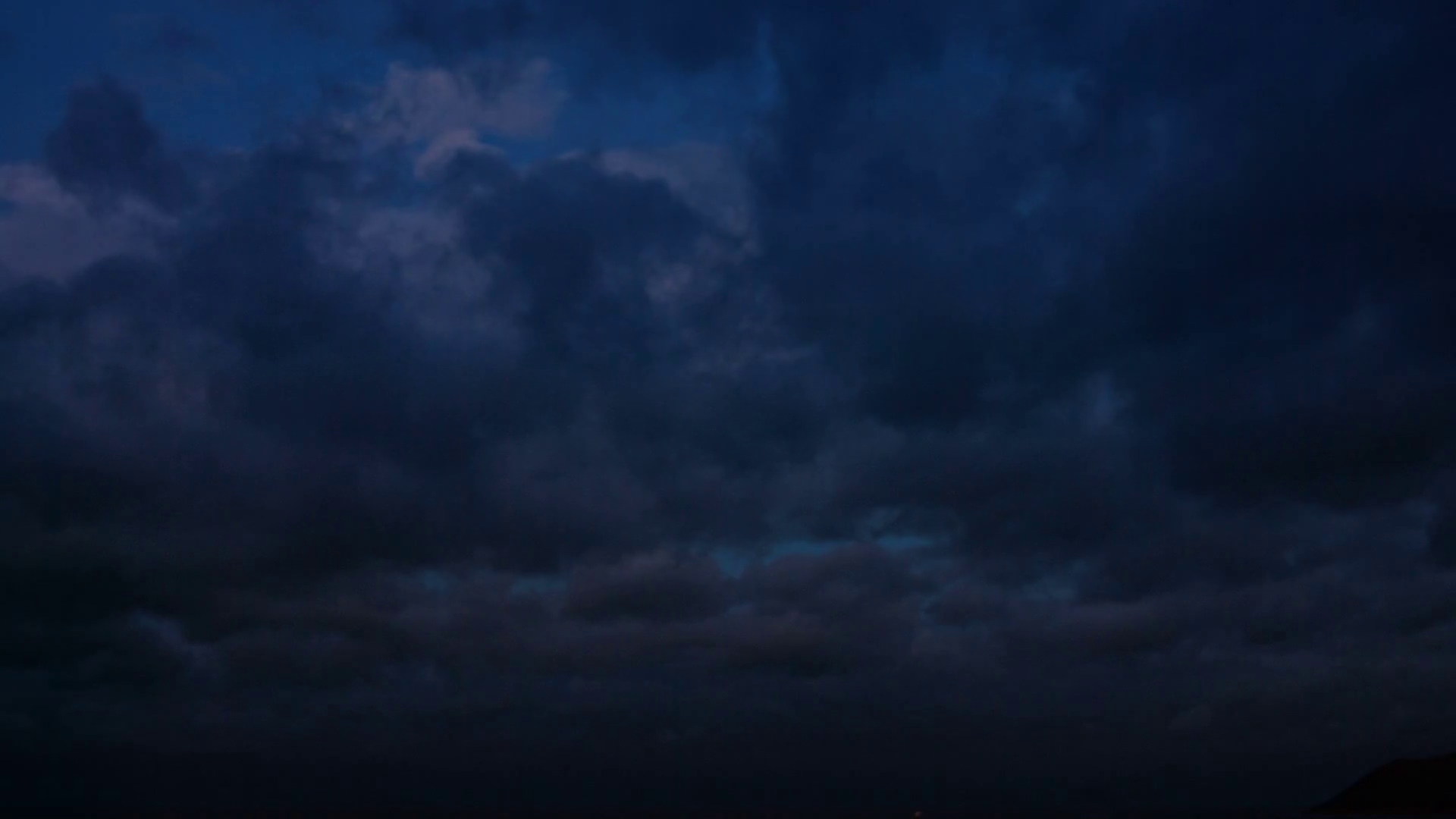 Night cloudy sky. Natural speed of the clouds Stock Video Footage ...