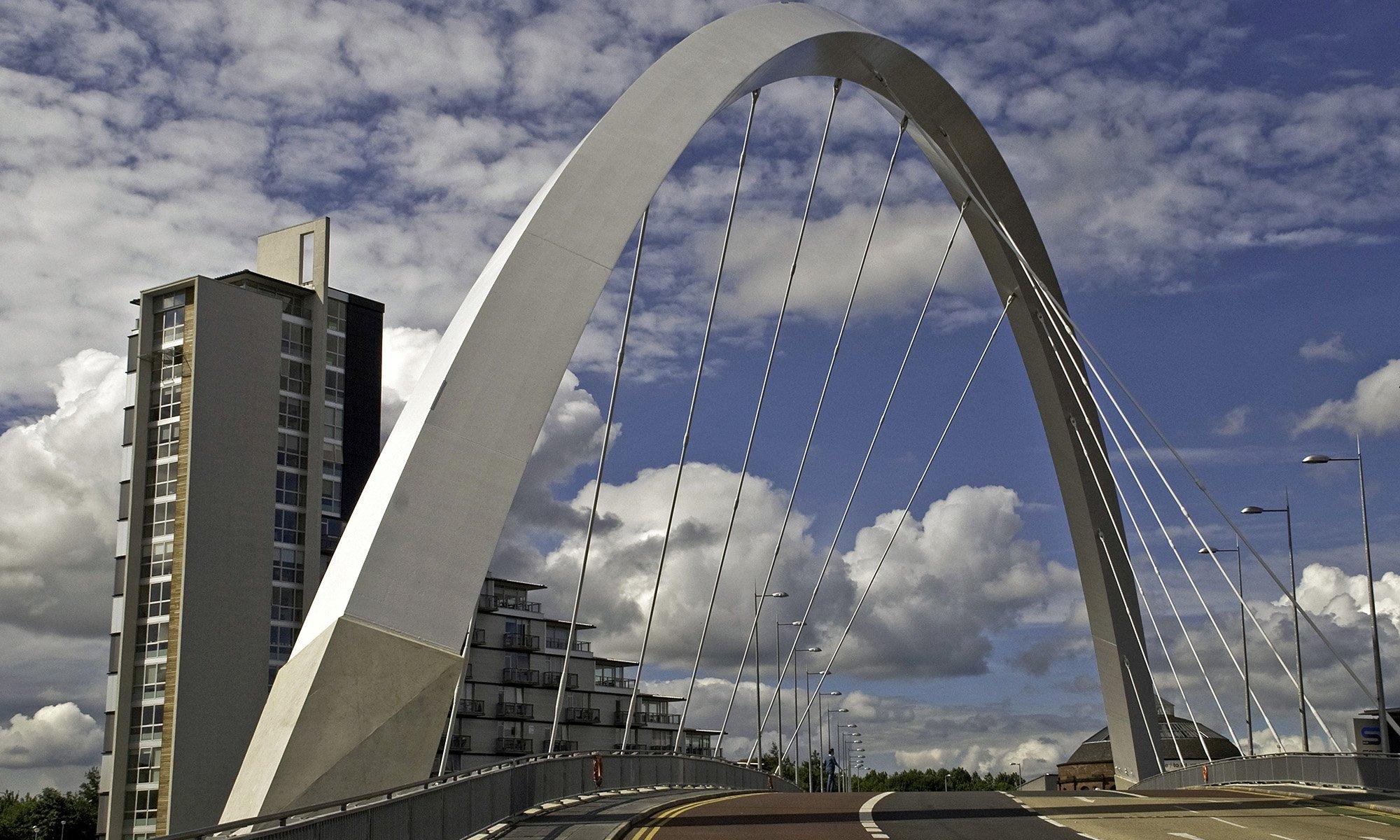 Clyde Arc bridge in Glasgow - Ed O'Keeffe Photography