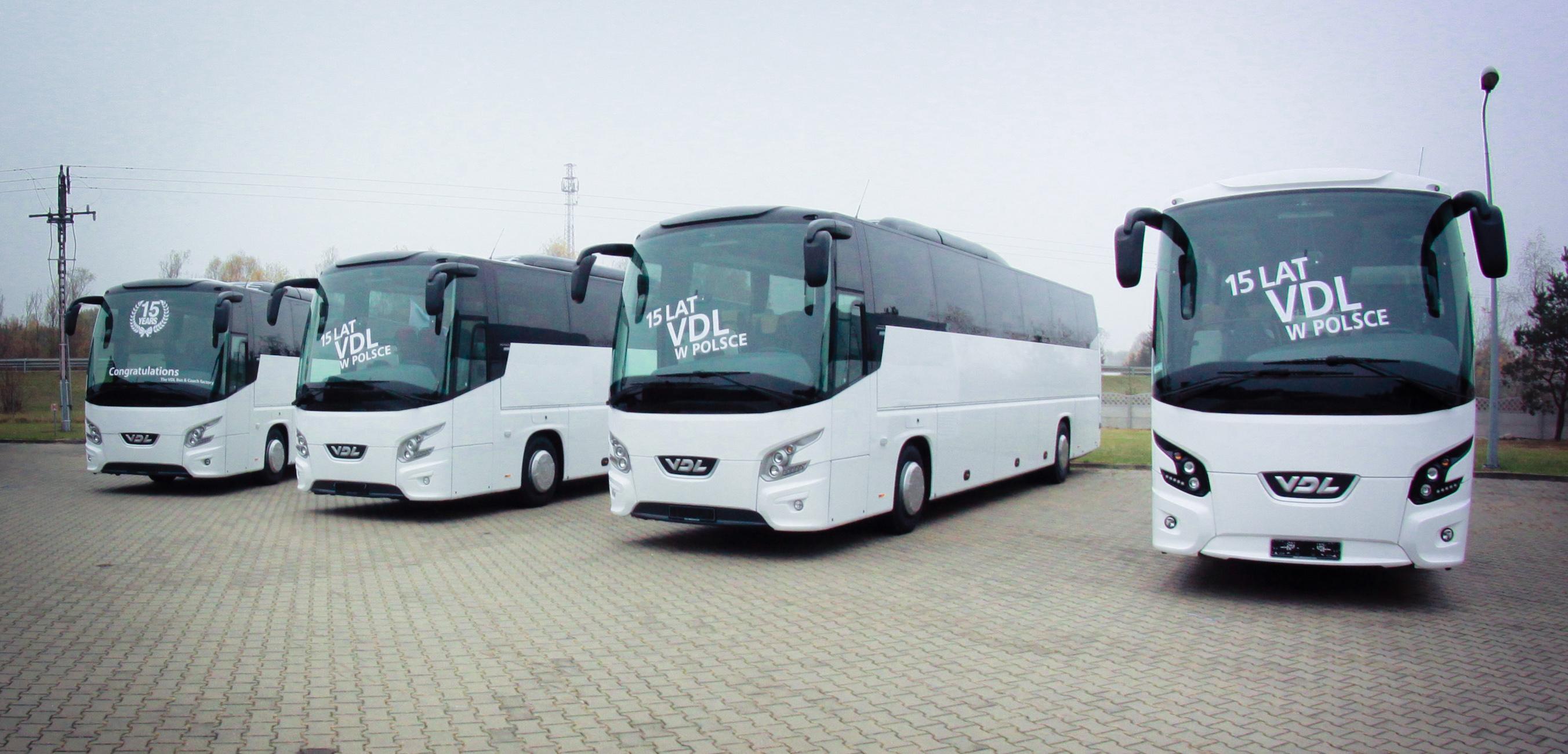 VDL Bus & Coach - VDL Bus & Coach Polska celebrates 15th anniversary